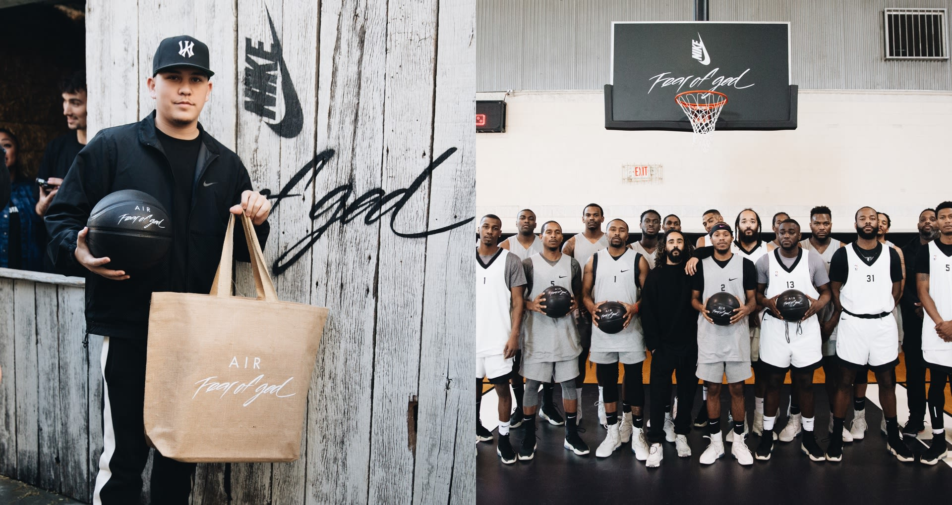 Nike Basketball: Fear of God. Nike SNKRS