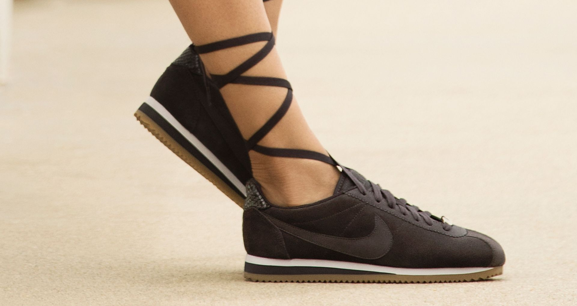 reputable site 522de f0215 Women's Nike Classic Cortez A.L.C. 'Oil Grey' Release Date ...