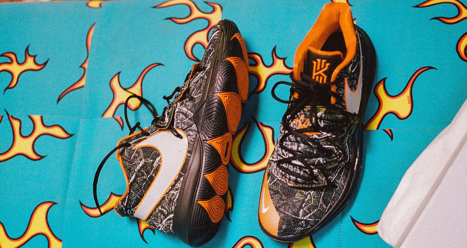 2a89559d640c44 Kyrie 5 x Taco PE  A Day in the Life of Taco . Nike+ SNKRS