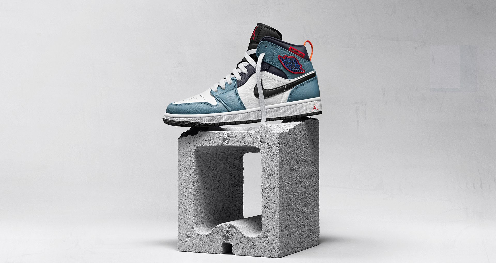 x Facetasm Tokyo Air Jordan 1 Sneakers by Nike, available on nike.com for $130 Rihanna Shoes Exact Product