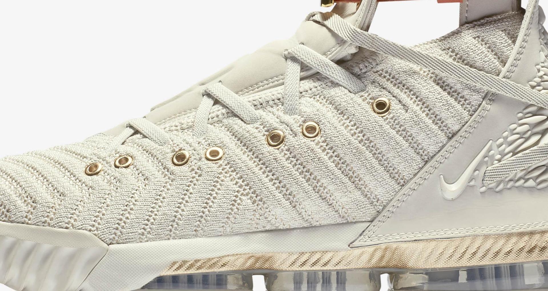 timeless design e92b9 23fa5 Women's Lebron 16 HFR 'White & Sail' Release Date. Nike+ SNKRS