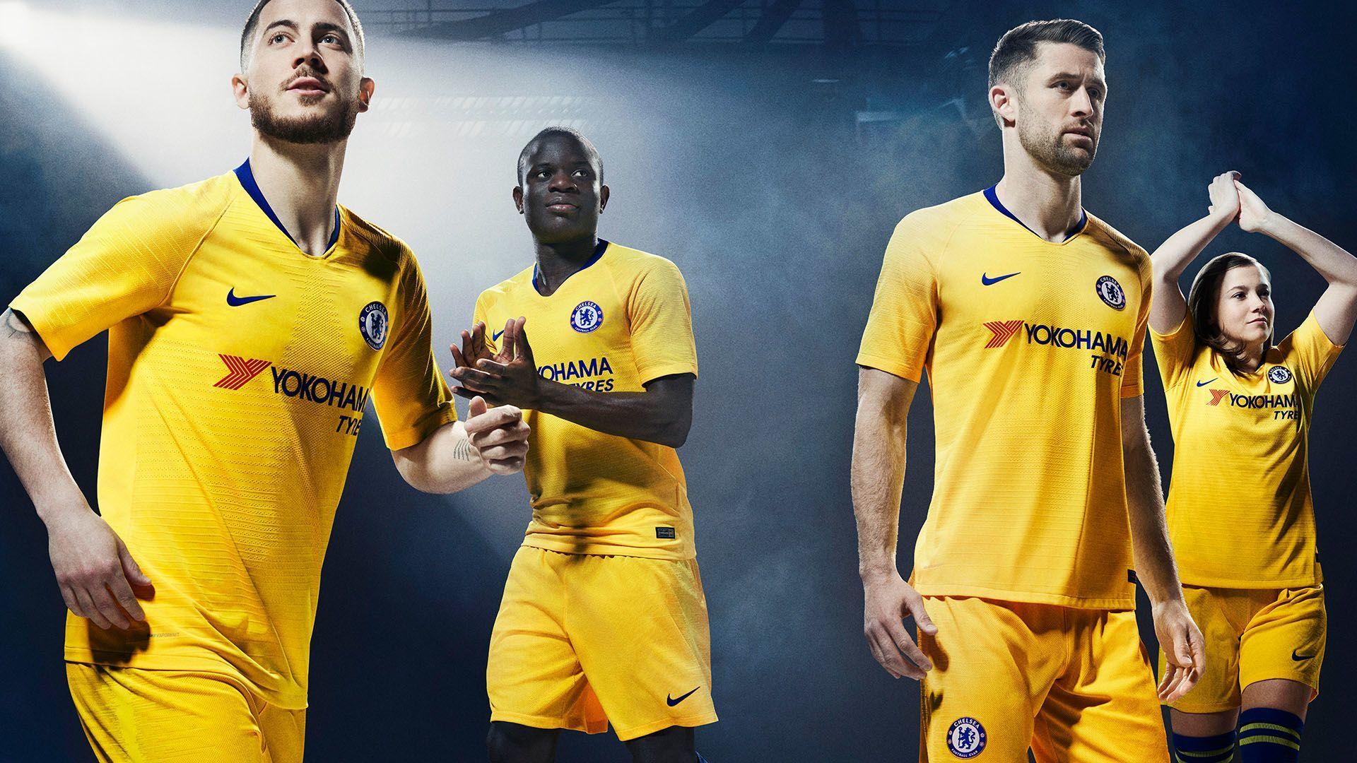 d7c0150e Chelsea 2018/19 Stadium Away Jersey. Nike.com