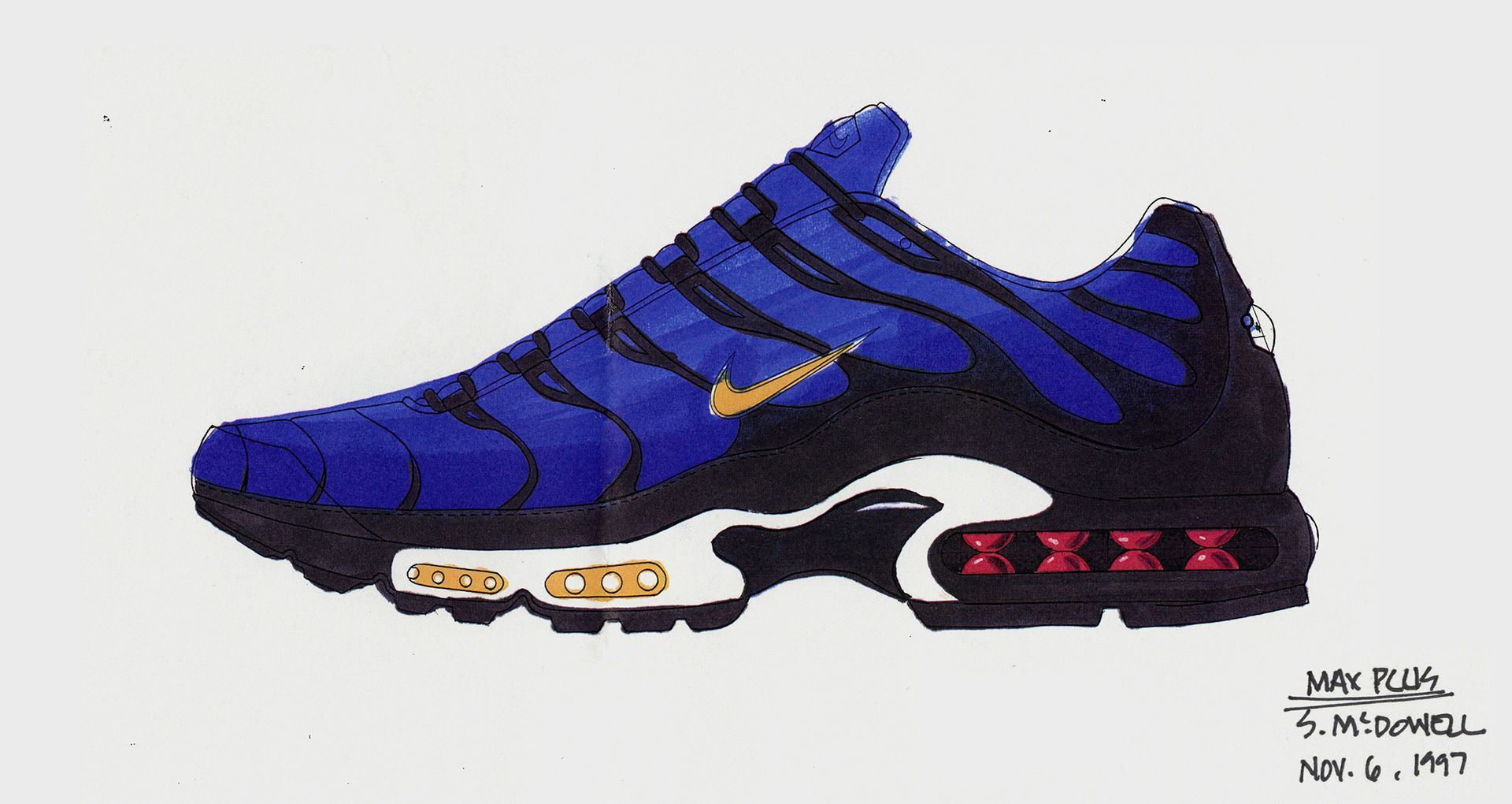 huge discount 285b0 89cf2 Behind the Design  Nike Air Max Plus OG
