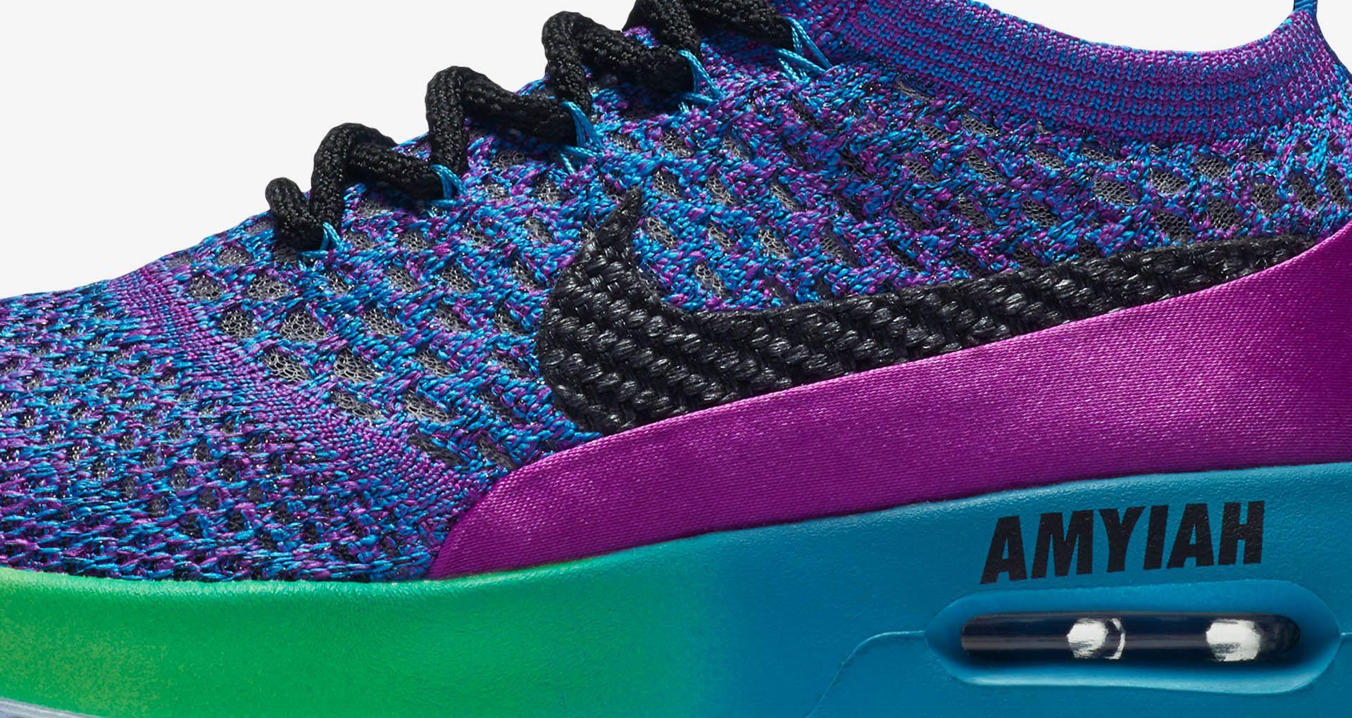 brand new 3bbe9 2adf5 Women s Nike Air Max Thea Ultra Flyknit Doernbecher Freestyle 2017  Vivid  Purple   Blue Orbit