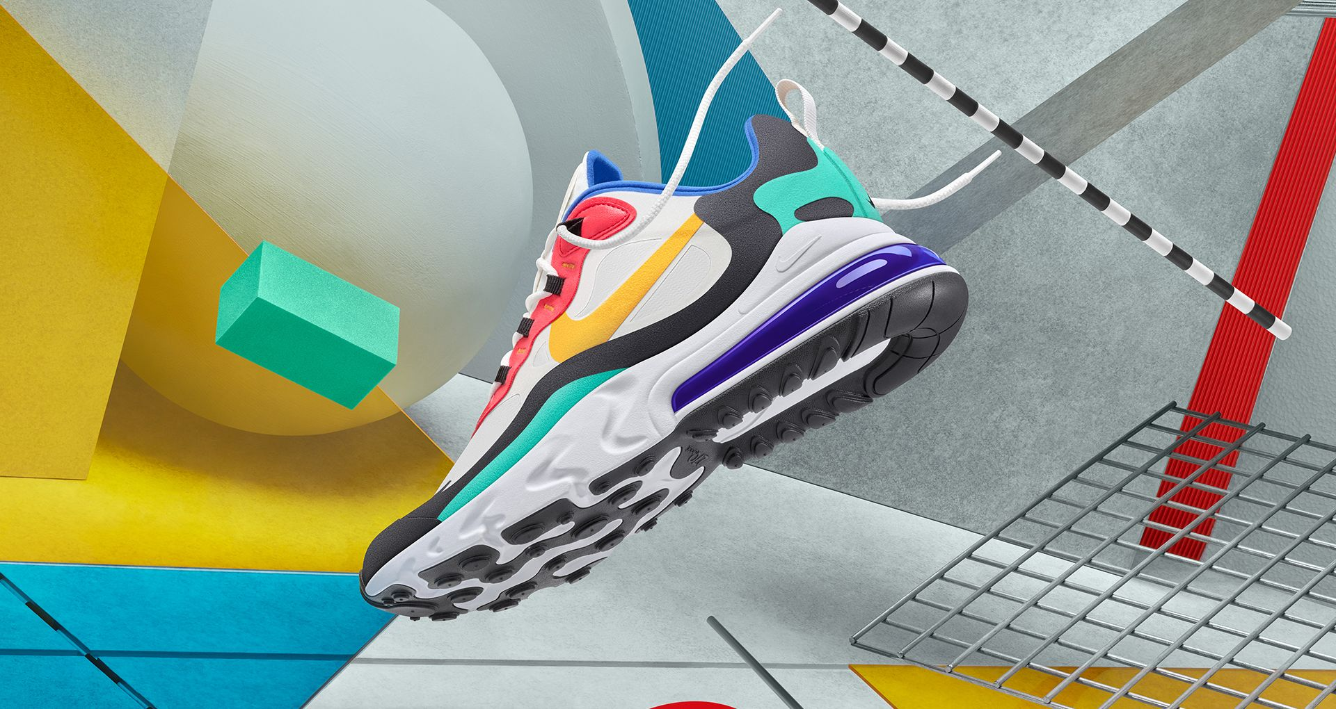 nike air max 270 react bauhaus