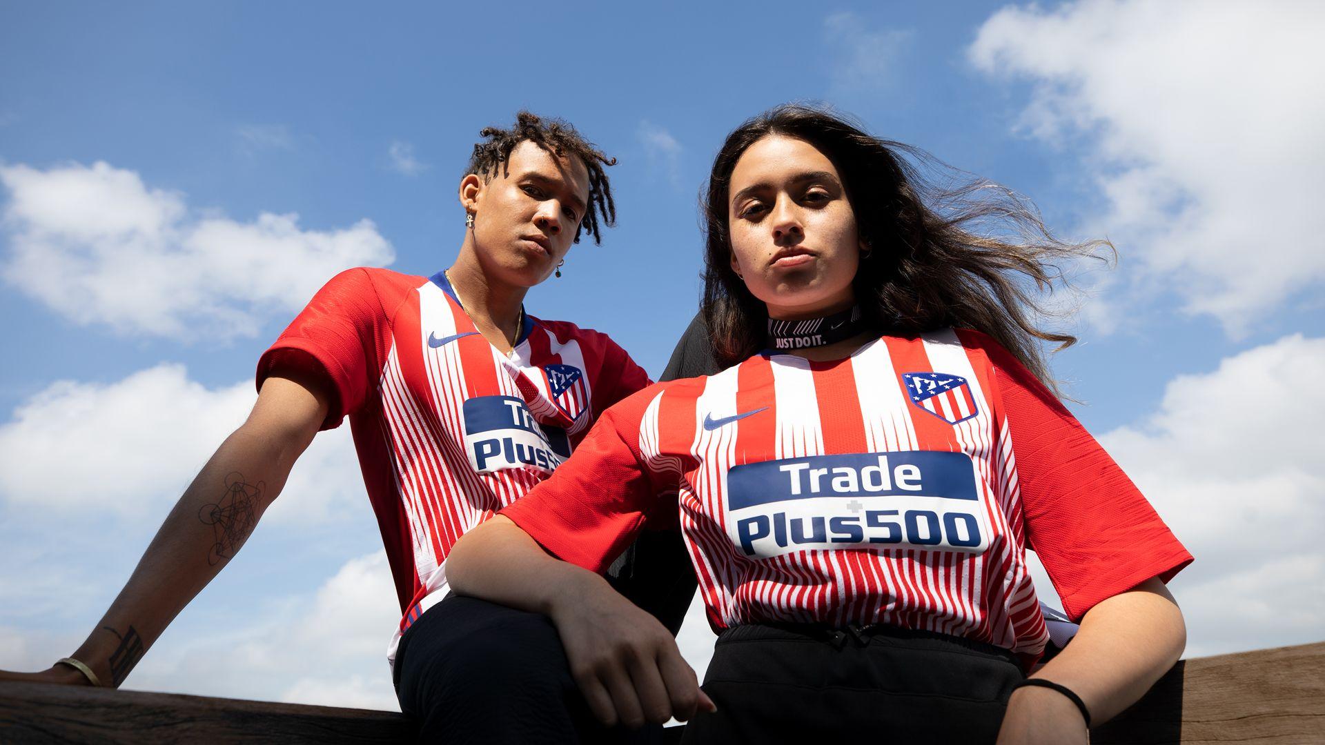 comprar más nuevo rendimiento superior códigos de cupón 2018/19 Atlético de Madrid Stadium Home Kit. Nike.com ZA