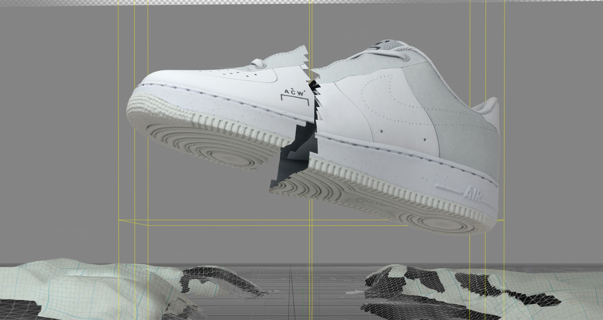 sports shoes 6acfe 9597d AIR FORCE 1. A-COLD-WALL