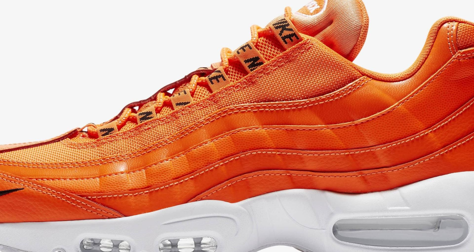 Nike Air Max 95 Premium 'Total Orange & White & Black