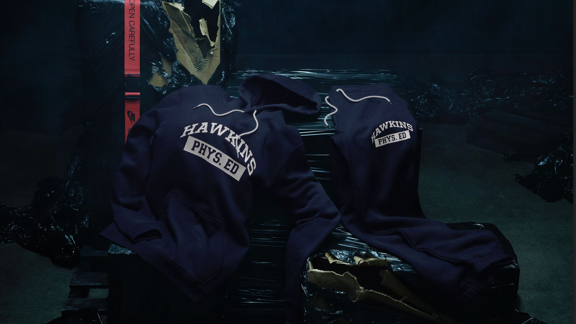 Nike x Stranger Things Apparel 'Hawkins High' Release Date