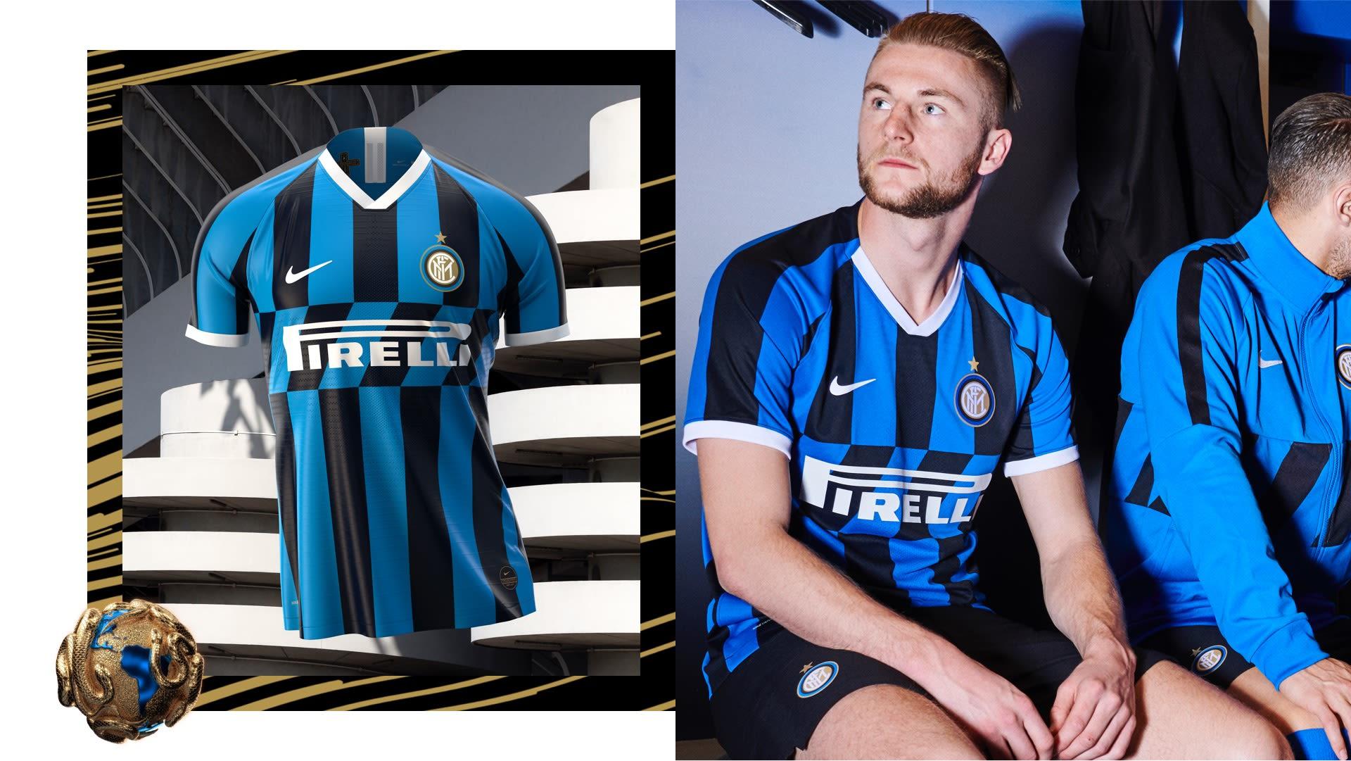 huge selection of 5c1f7 d2e02 2019/20 Inter Milan Stadium Home Jersey . Nike.com ZA