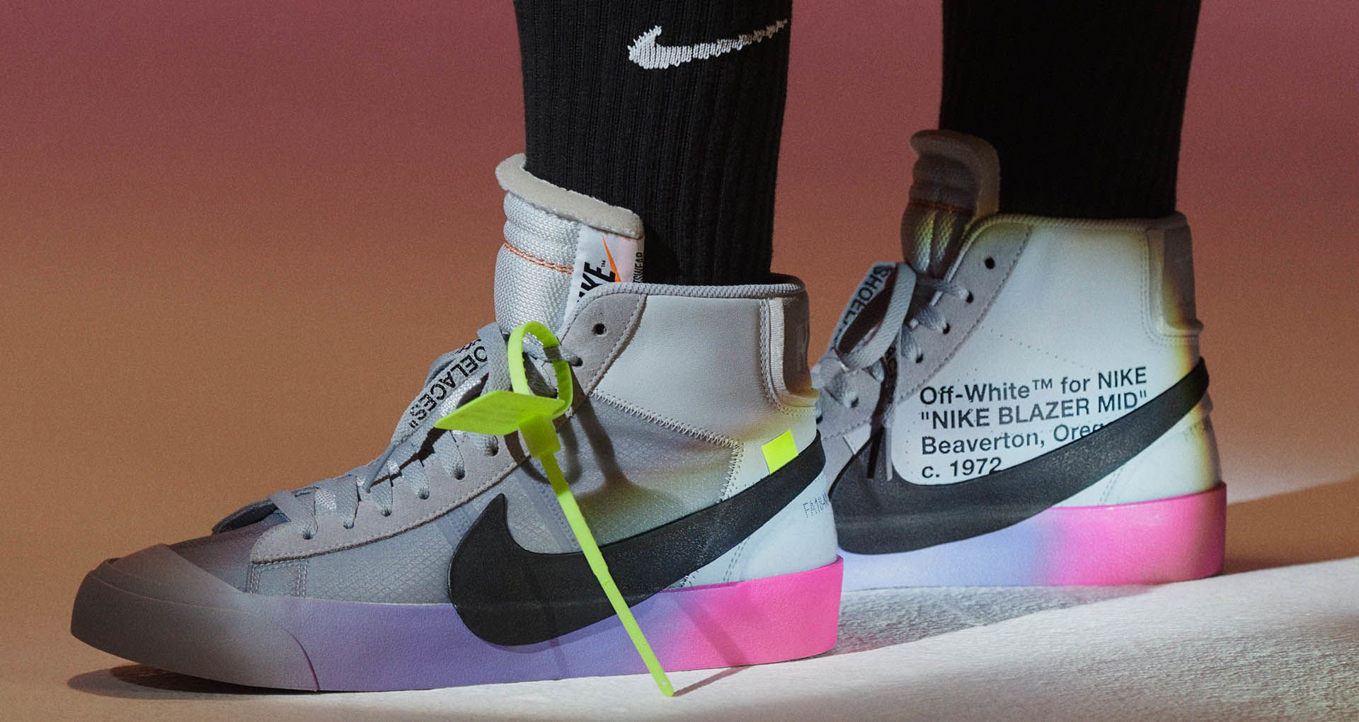 Take A Look At Serena William's Exclusive Off White x Nike