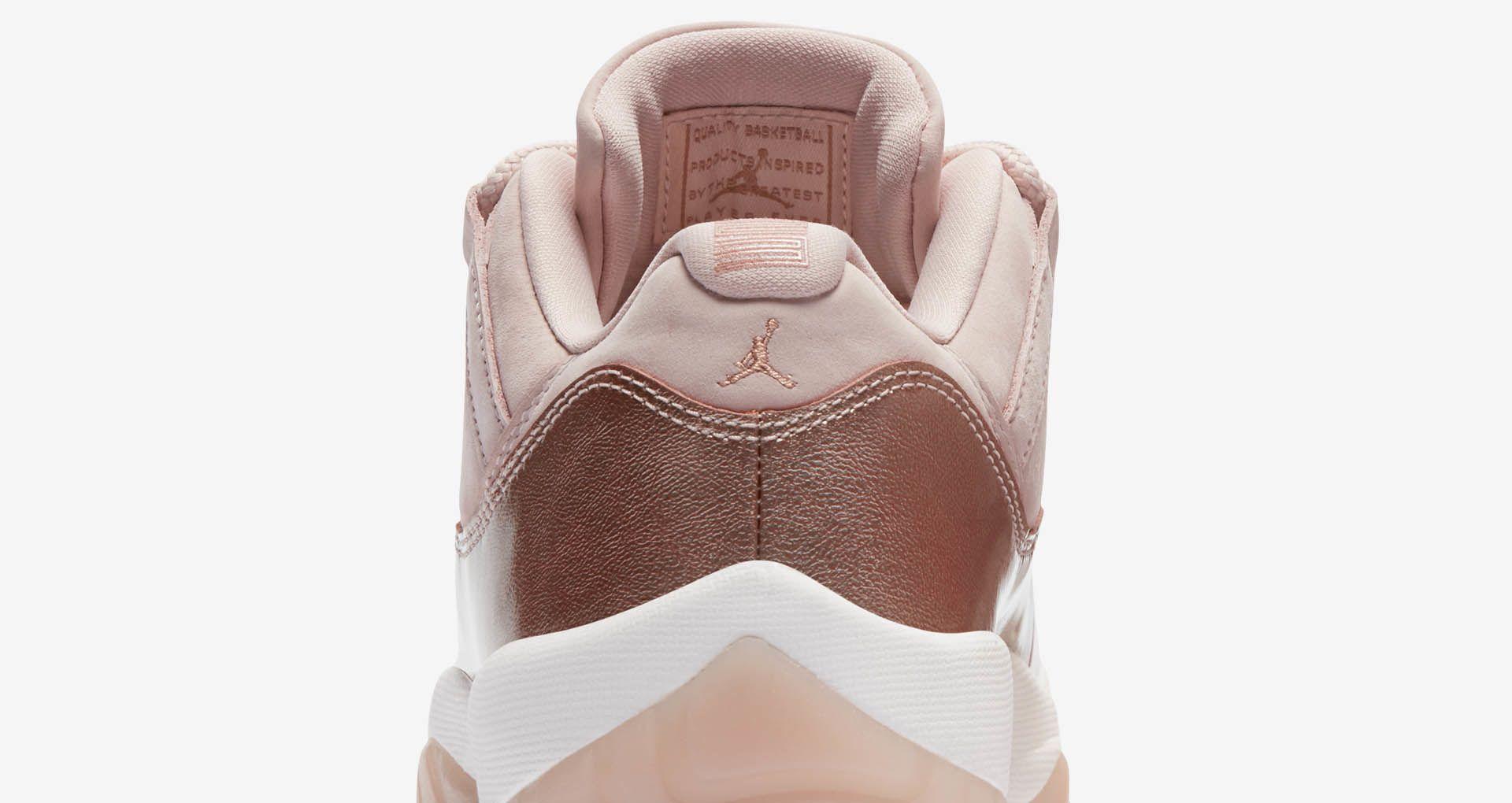 brand new b6fc0 6046e Women's Air Jordan 11 'Rose Gold' Release Date. Nike+ Launch NL