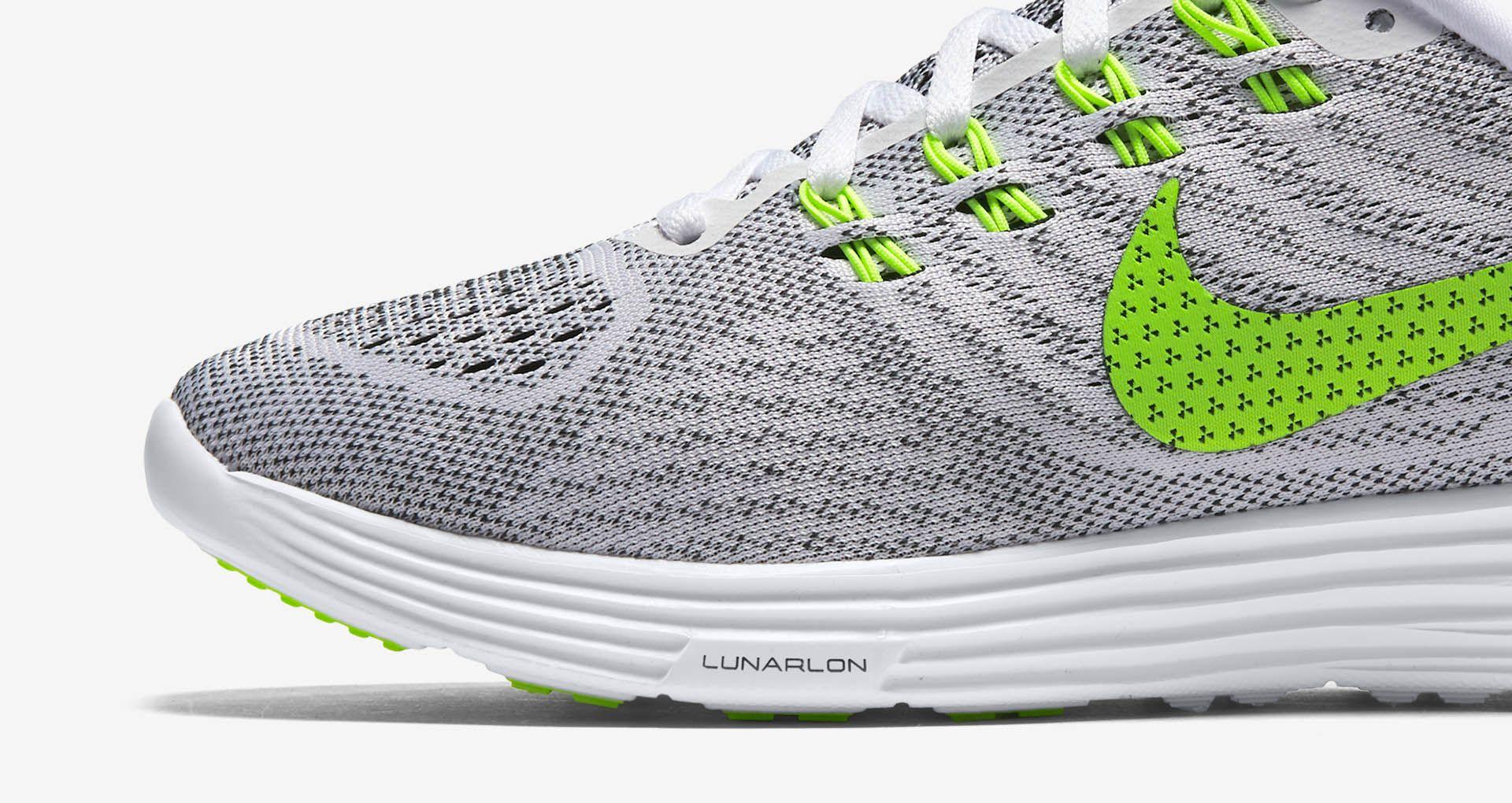 sale retailer 44afc 79f08 Women s Nike Lunartempo 2  White   Volt-Black