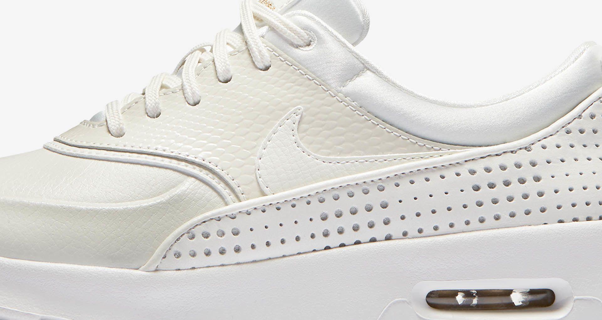 Women's Nike Air Max Thea Premium 'Summit White & Metallic