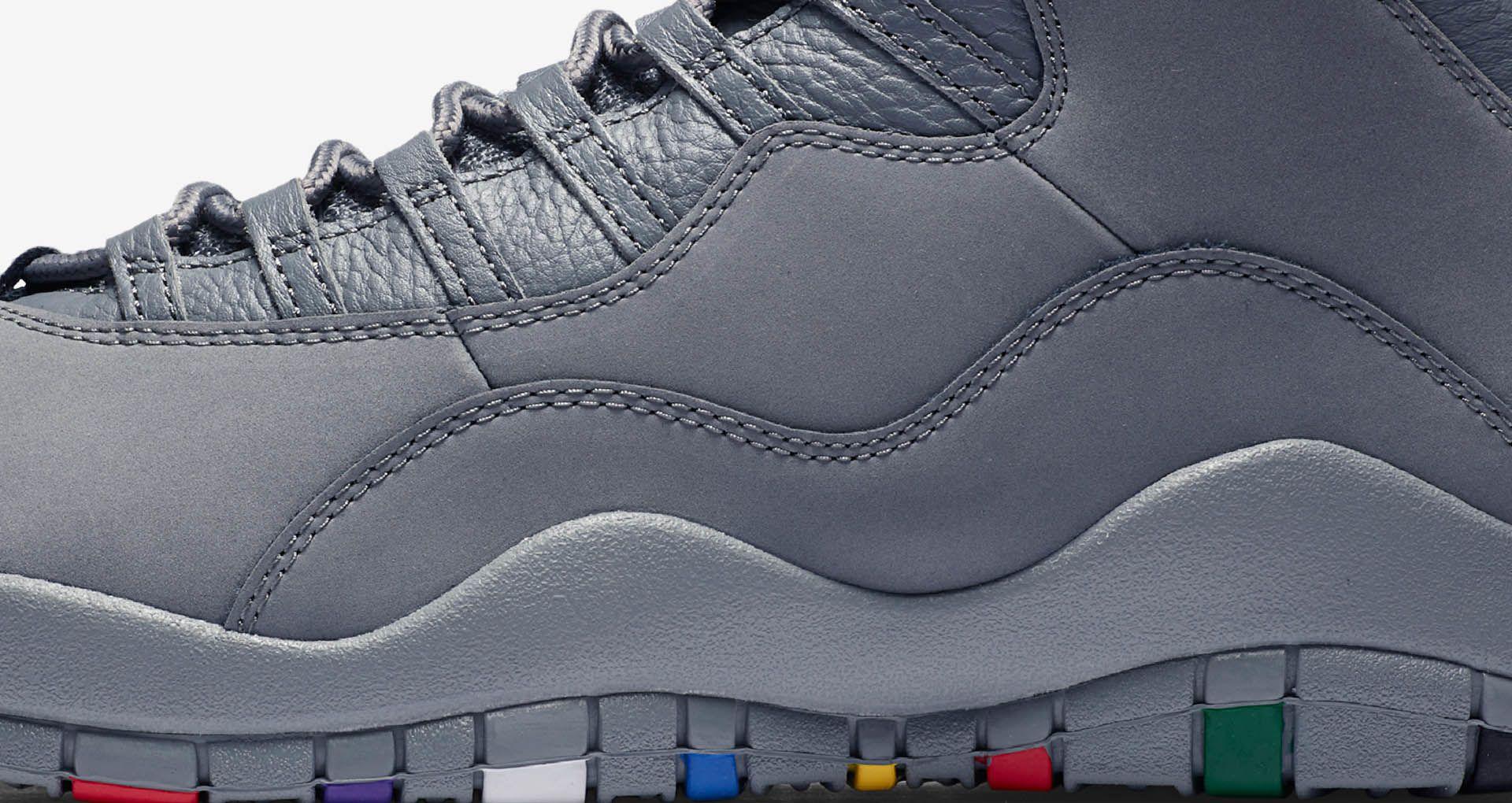 d4f9767a932b Air Jordan 10  Cool Grey  Release Date. Nike+ SNKRS