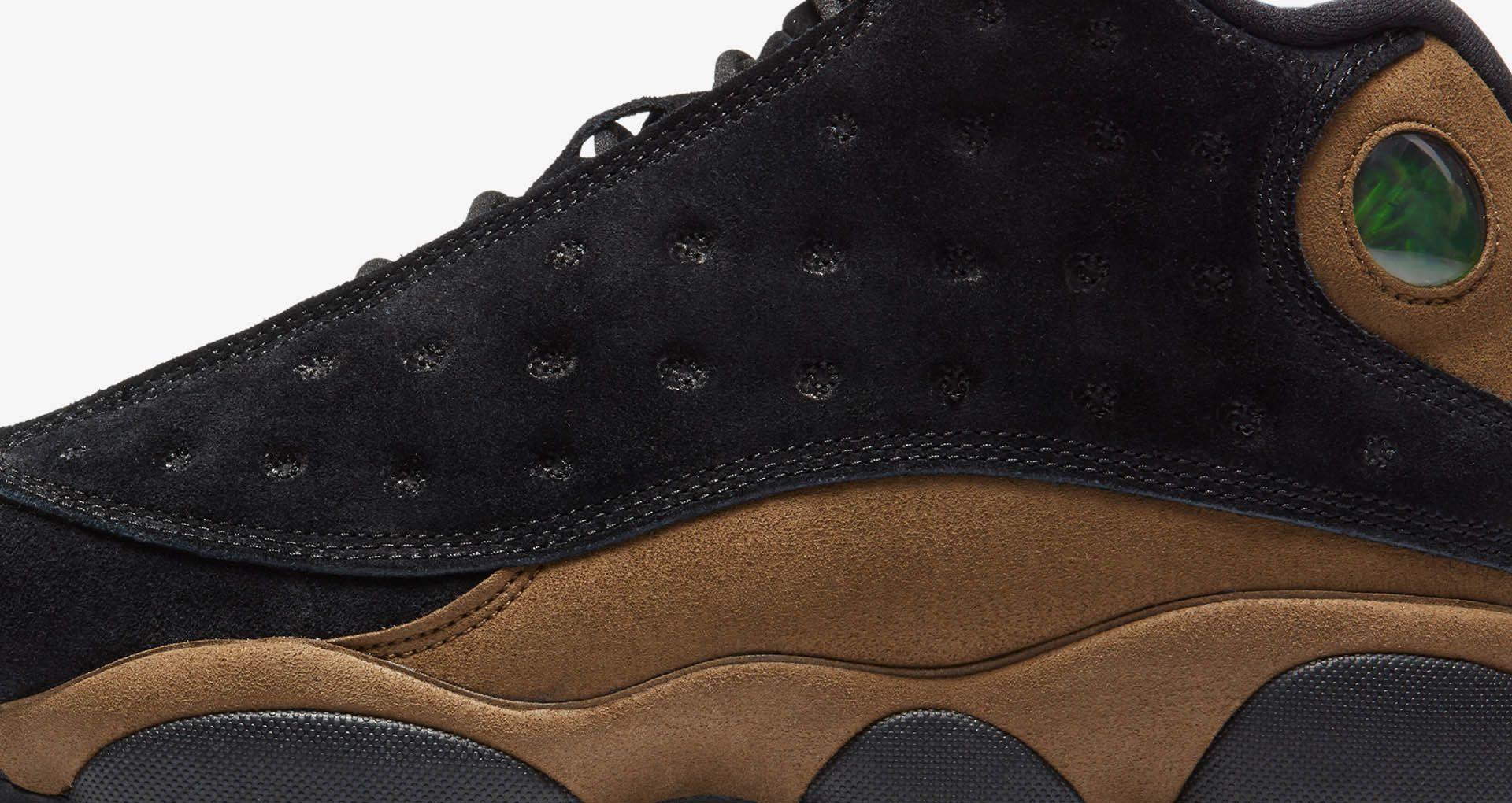 9d5f1a014ab1 Air Jordan 13  Black   Olive  Release Date. Nike+ SNKRS