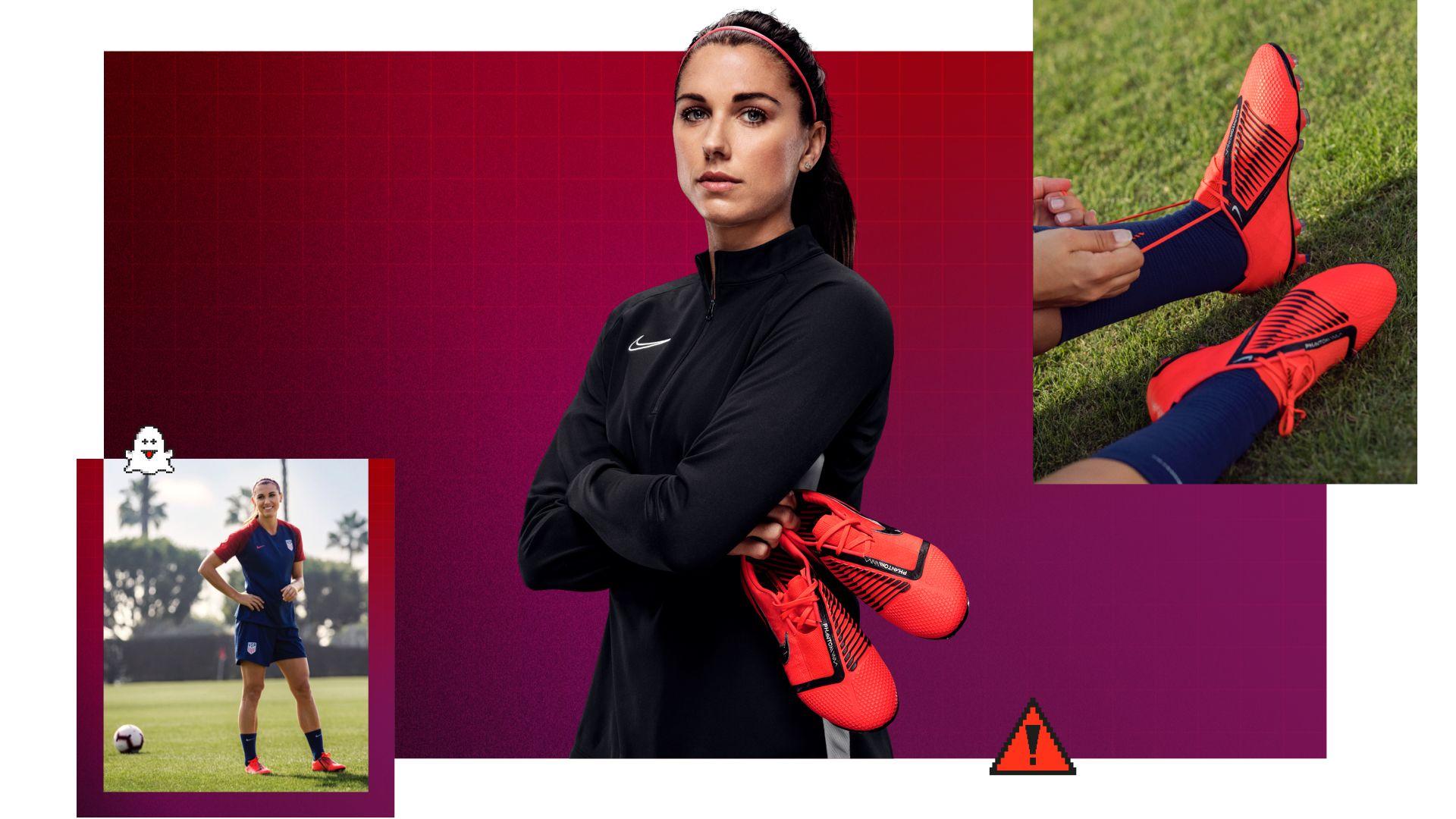 factory price 34372 7a298 Alex Morgan Precision Profile. Nike.com