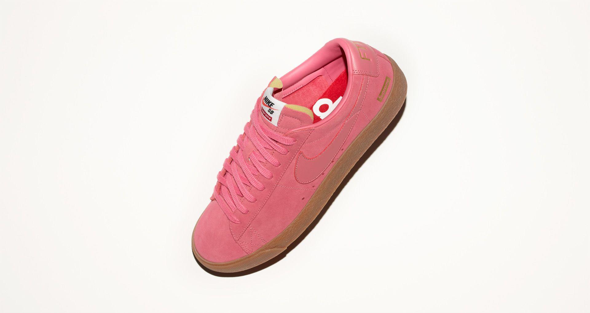 big sale 67ccc e4923 Nike Blazer Low GT x Supreme 'Desert Bloom' Release Date ...
