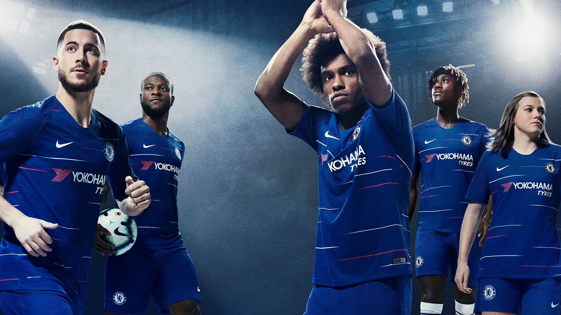 san francisco 01034 ddb1a Chelsea 2018/19 Stadium Home Jersey. Nike.com