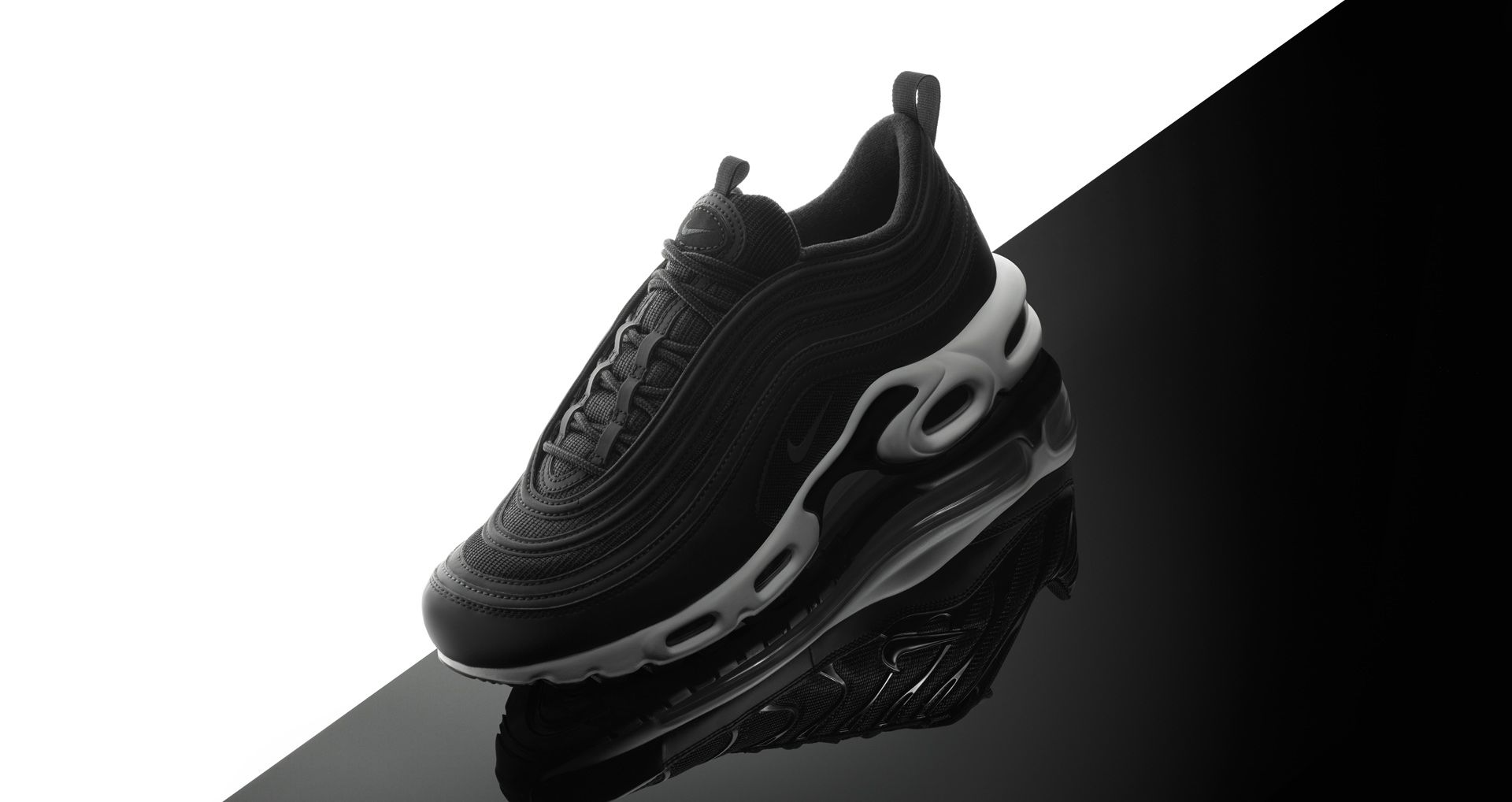finest selection ac963 74bf1 Nike Air Max Plus 97  Black   White  Release Date. Nike+ SNKRS