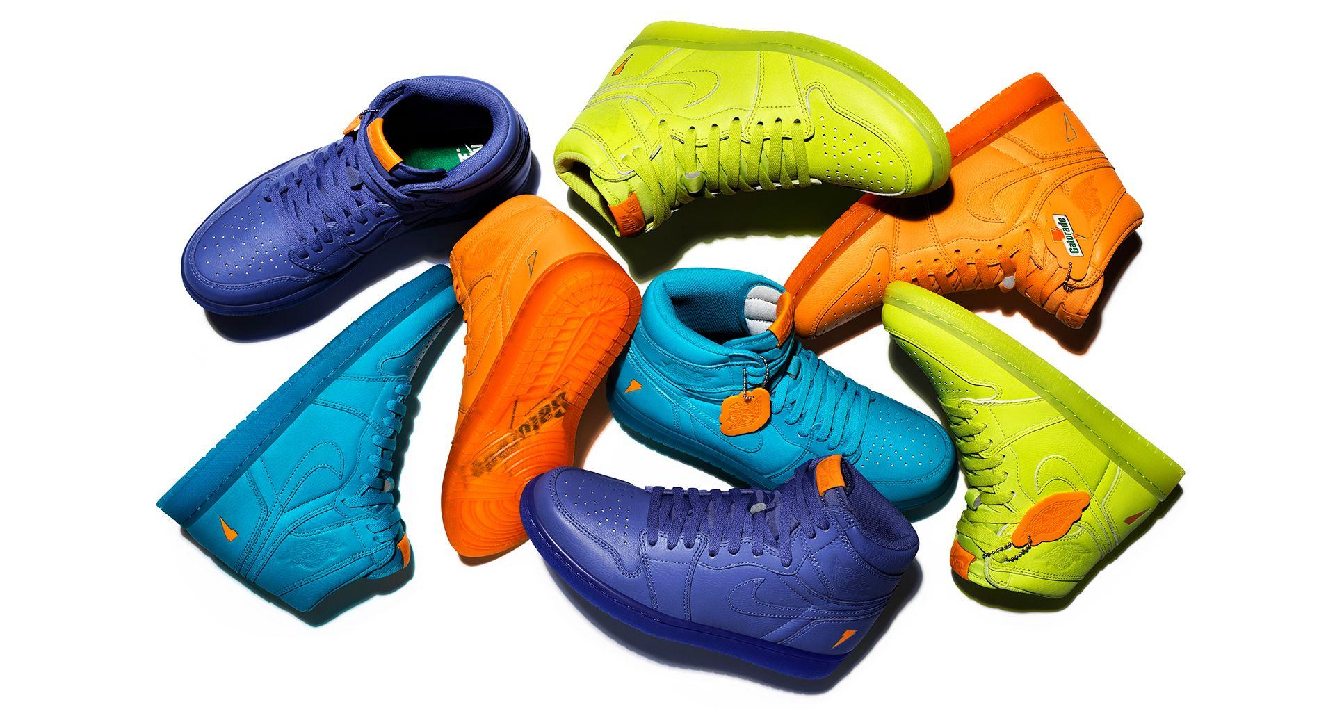 buy popular ba6d7 a3d28 Behind The Design: Air Jordan 1 Gatorade 'Orange'. Nike+ SNKRS