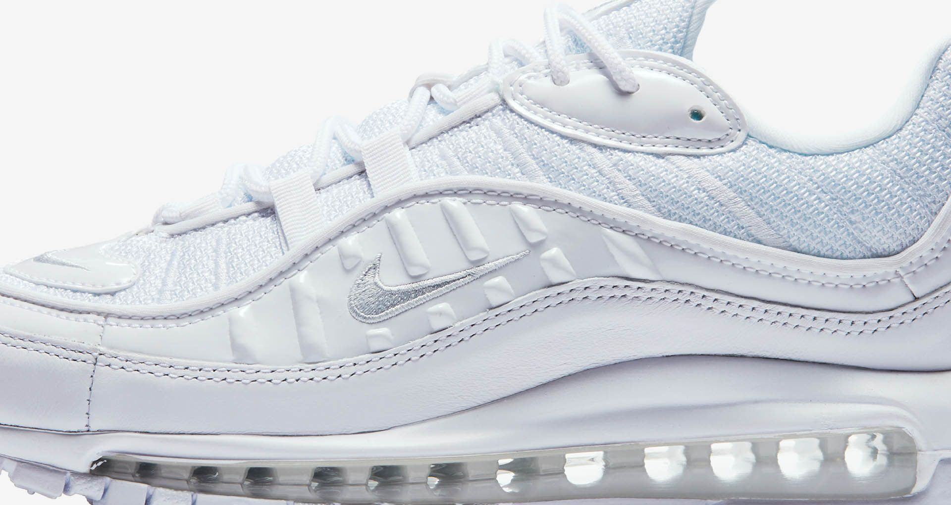 5a82071a35 Nike Air Max 98 'White & Pure Platinum' Release Date. Nike+ SNKRS