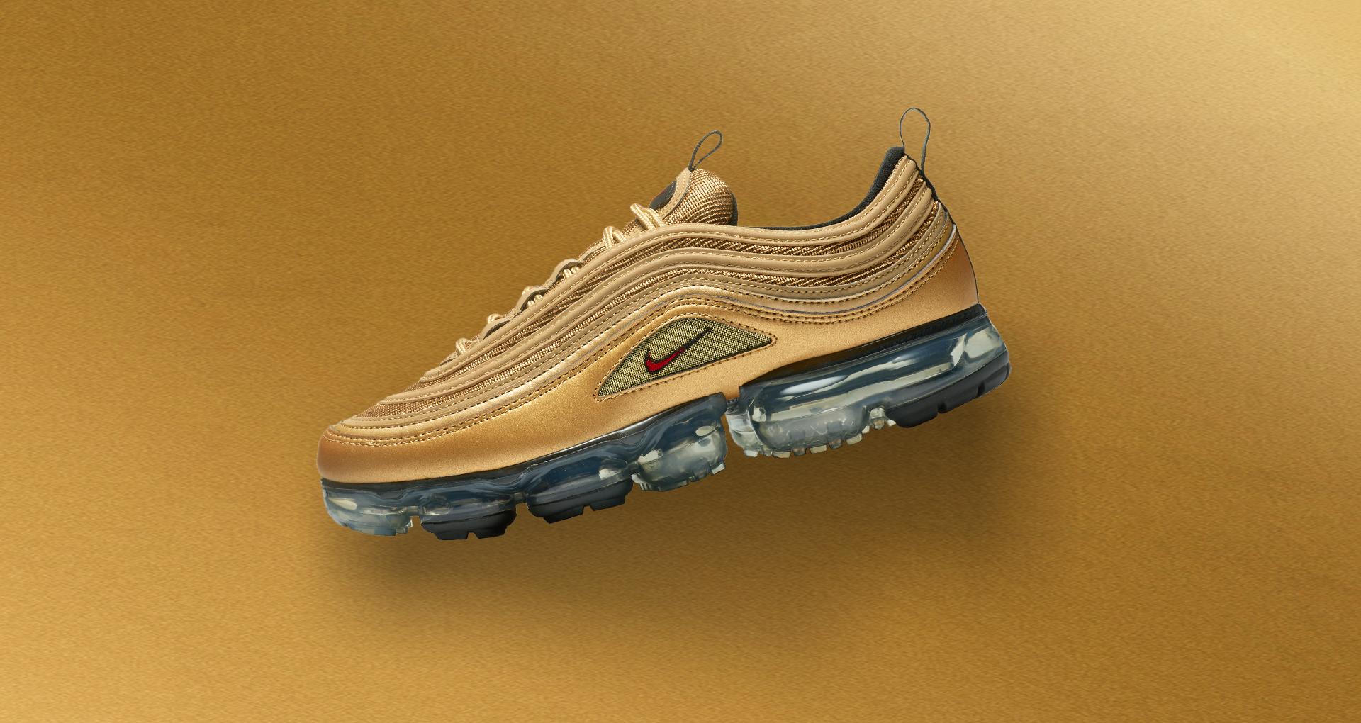 Nike Vapormax 97 'Metallic Gold' Release Date. Nike SNEAKRS LU