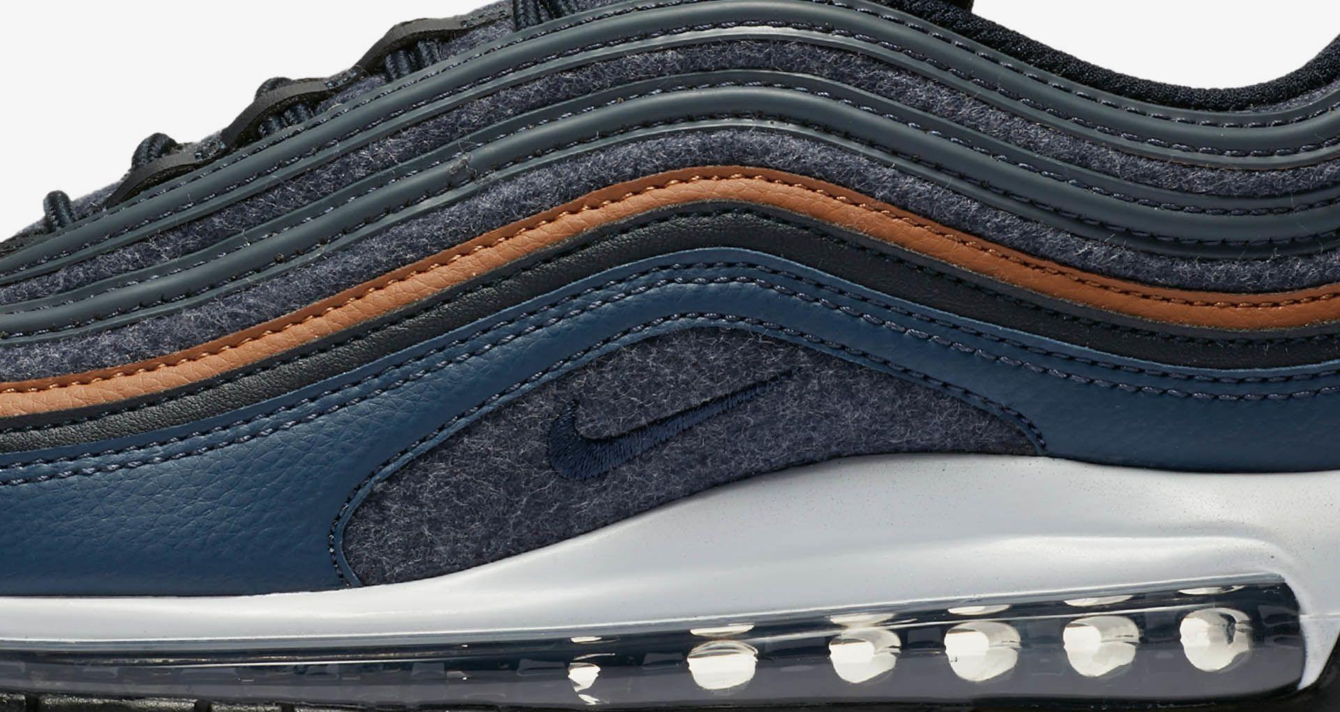 8decd90ef2 Nike Air Max 97 Premium 'Thunder Blue & Dark Obsidian' Release Date