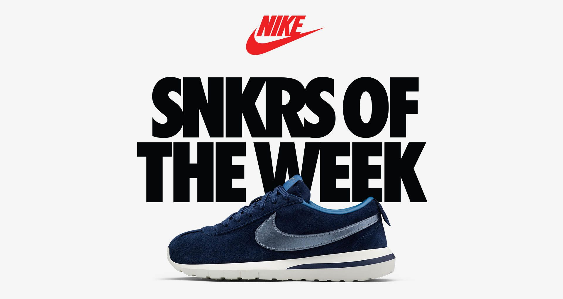 super popular cee10 fad65 Women's Nike Roshe Cortez Premium Suede 'Midnight Navy ...