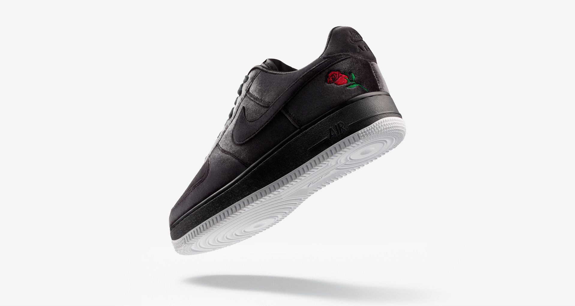 Nike Air Force 1 Satin 'Black & White' Release Date. Nike SNKRS