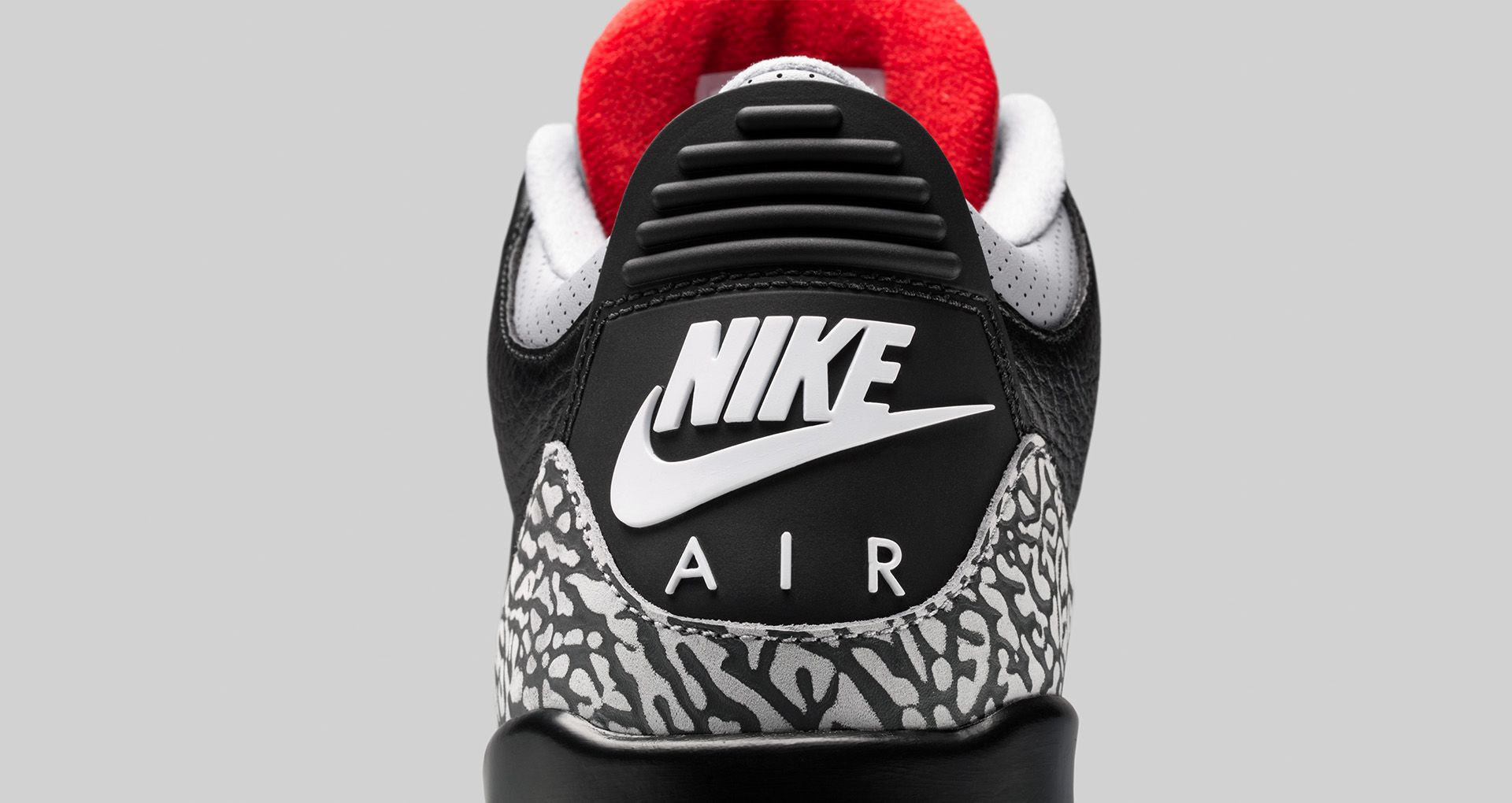 separation shoes aedeb e1211 Air Jordan 3 Retro OG 'Black Cement' 2018 Release Date ...