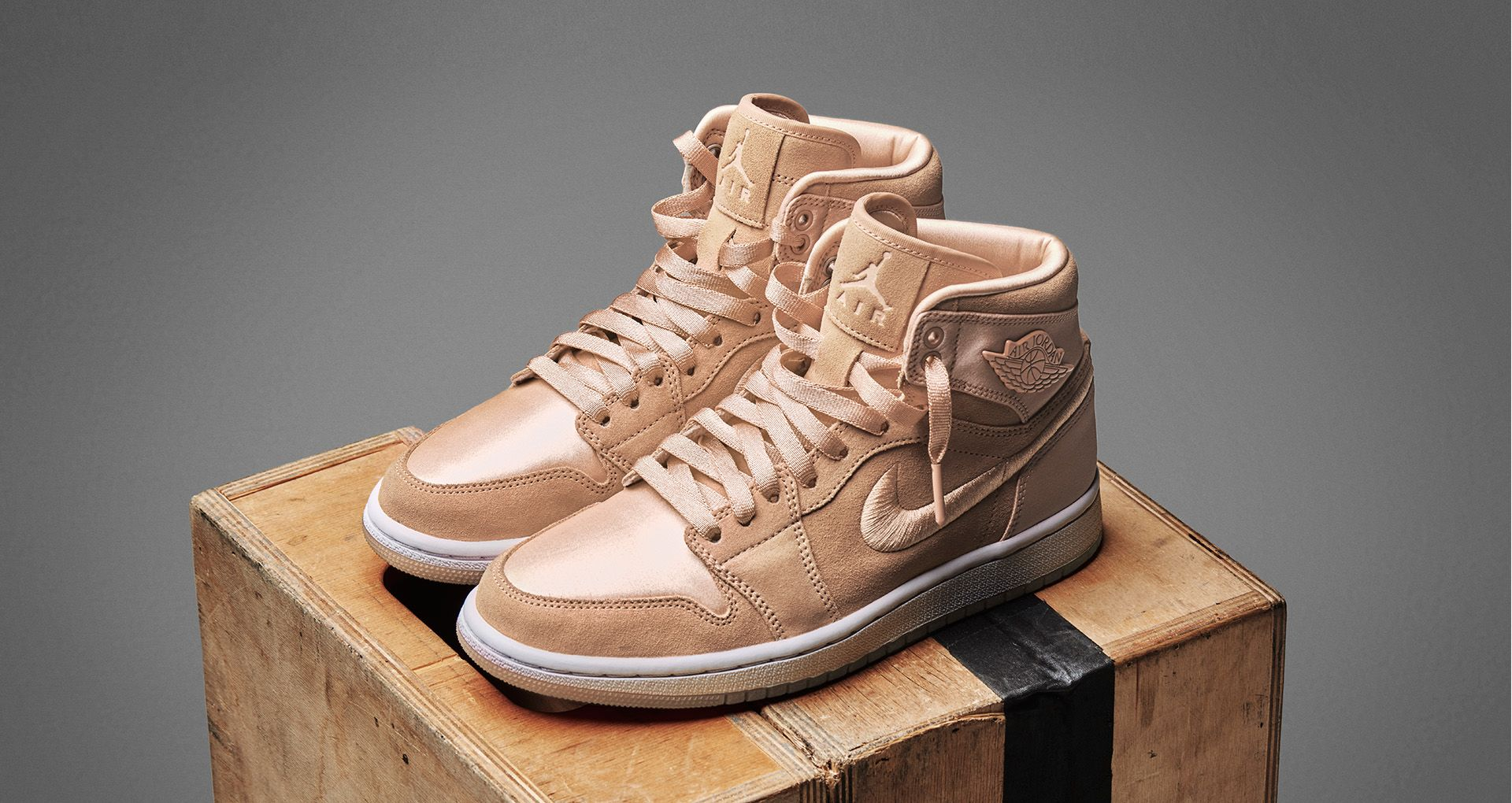 10b937ebb52144 Women s Air Jordan 1 Retro High  Ice Peach  Release Date. Nike⁠+ SNKRS