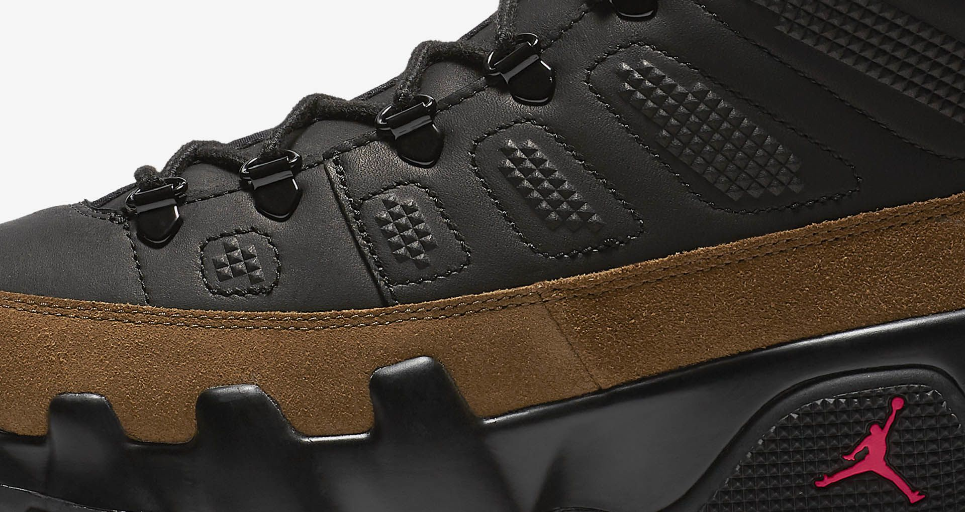 online store 84479 0572e Air Jordan 9 Retro Boot NRG 'Black & Light Olive' Release ...