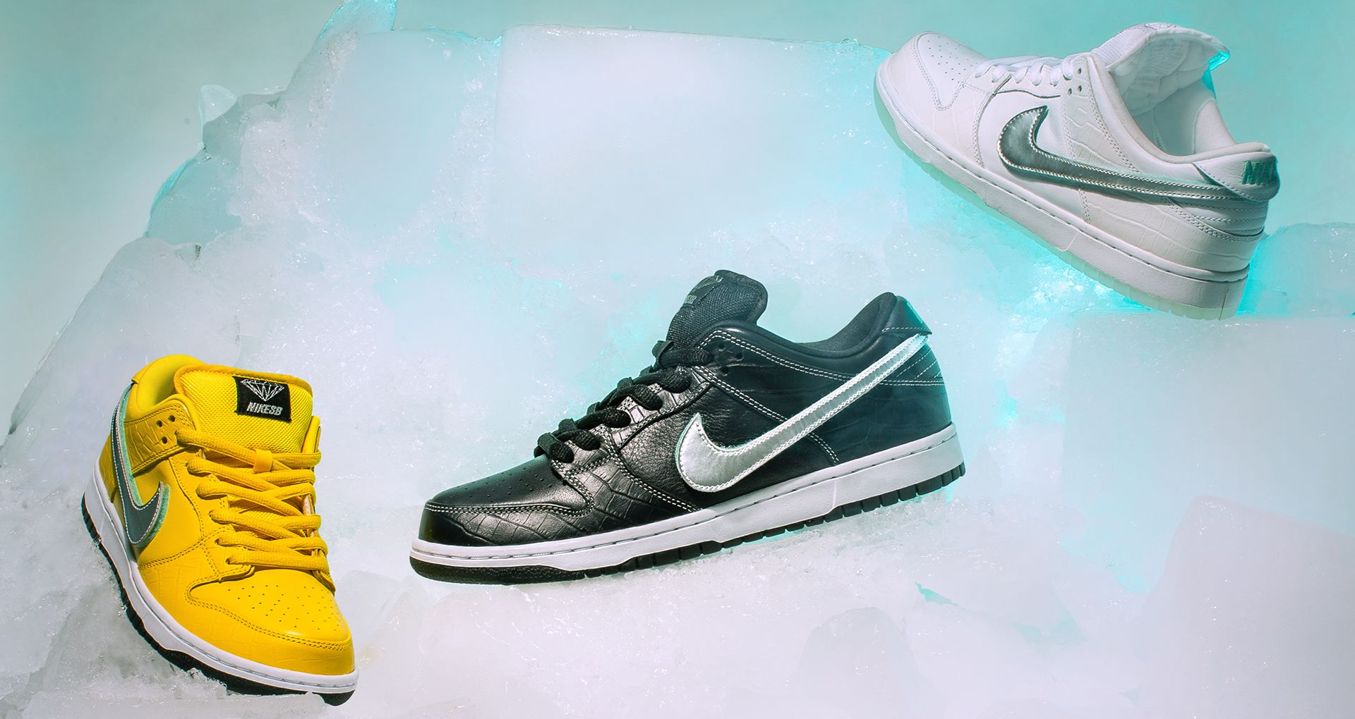 new photos superior quality new style Behind The Design: SB Dunk Low 'Diamond'. Nike SNKRS