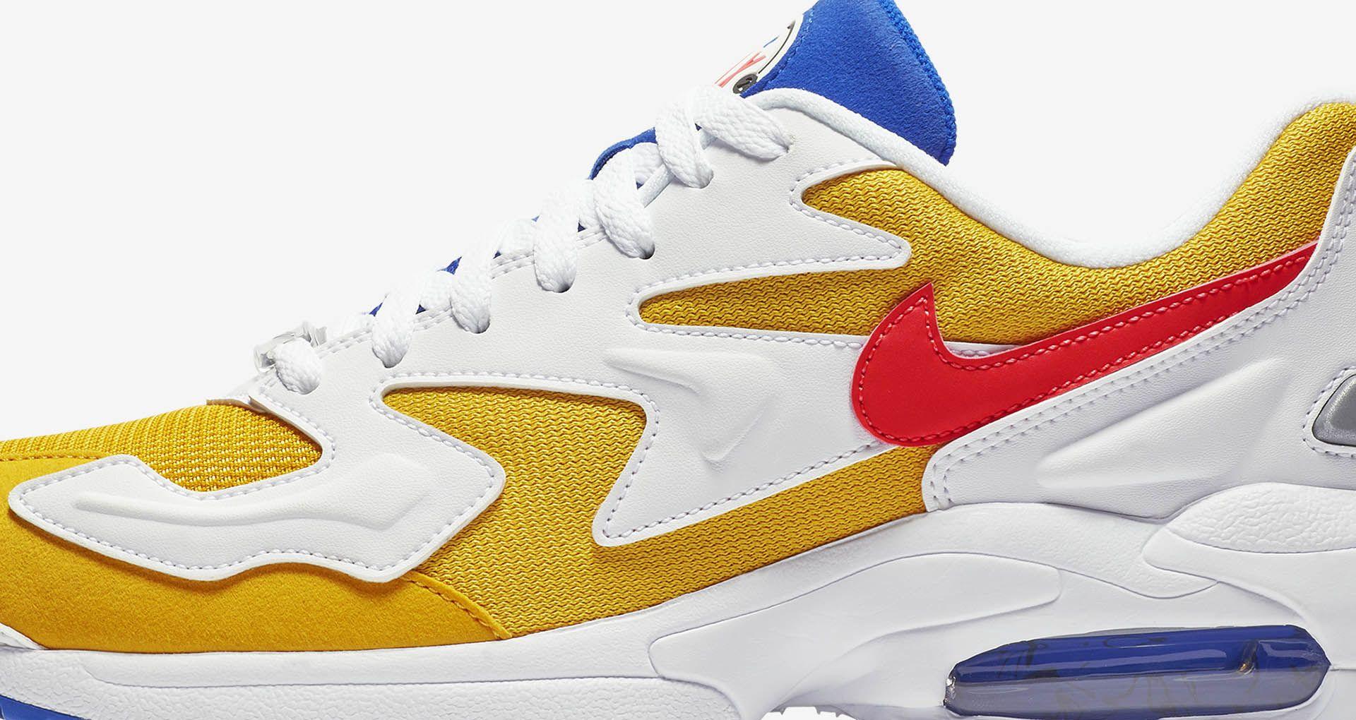 Nike Air Max2 Light 'University Gold & Racer Blue &