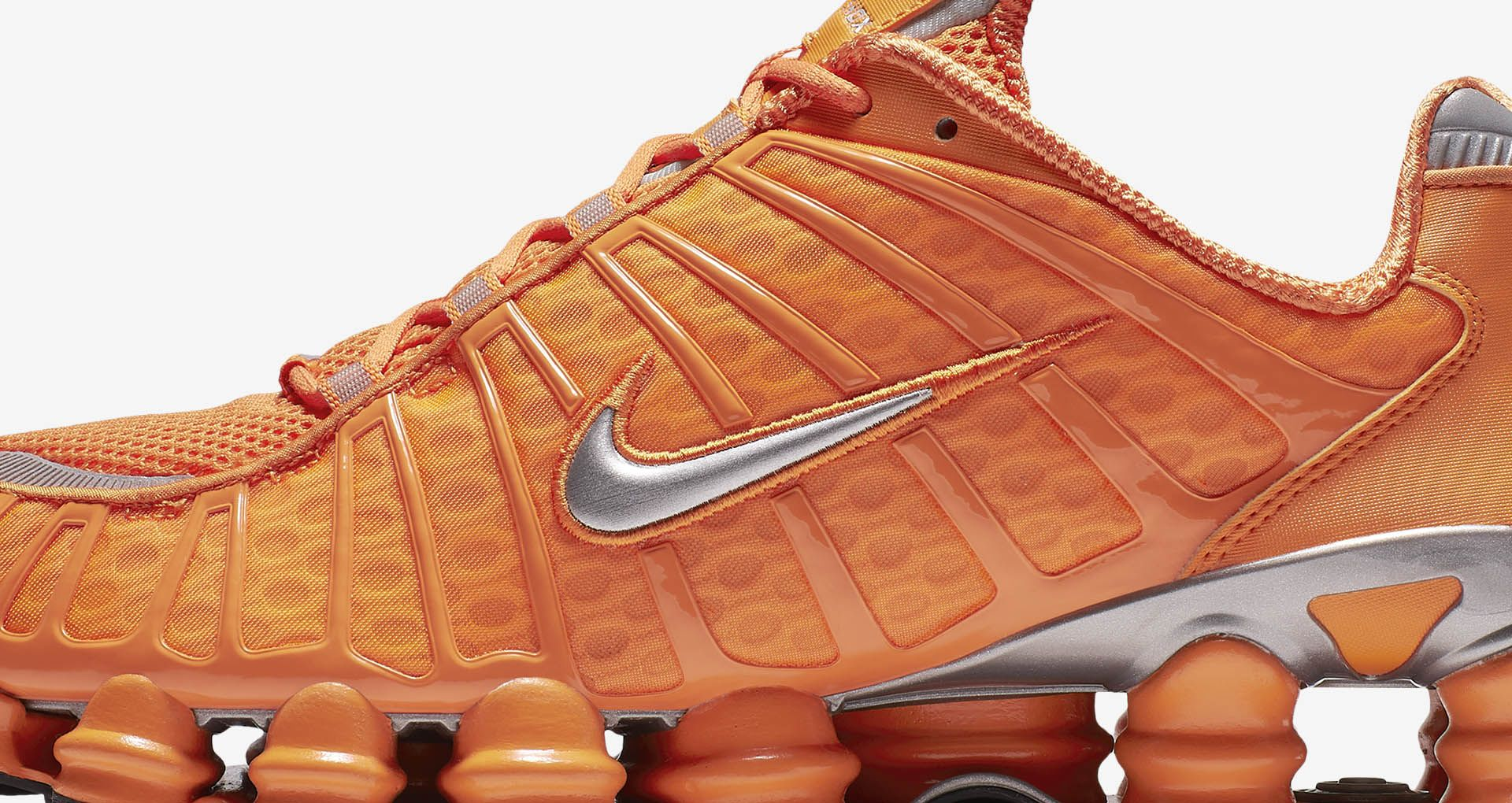 uk availability f6d6c 05c8f Nike Shox TL  Clay Orange   Metallic Silver  Release ...