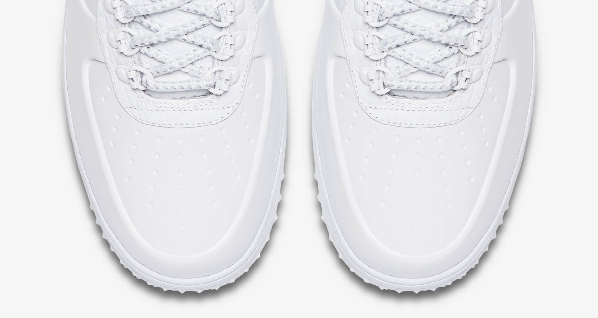 great look available the sale of shoes Nike Lunar Force 1 Duckboot Low 'Triple White' Release Date ...