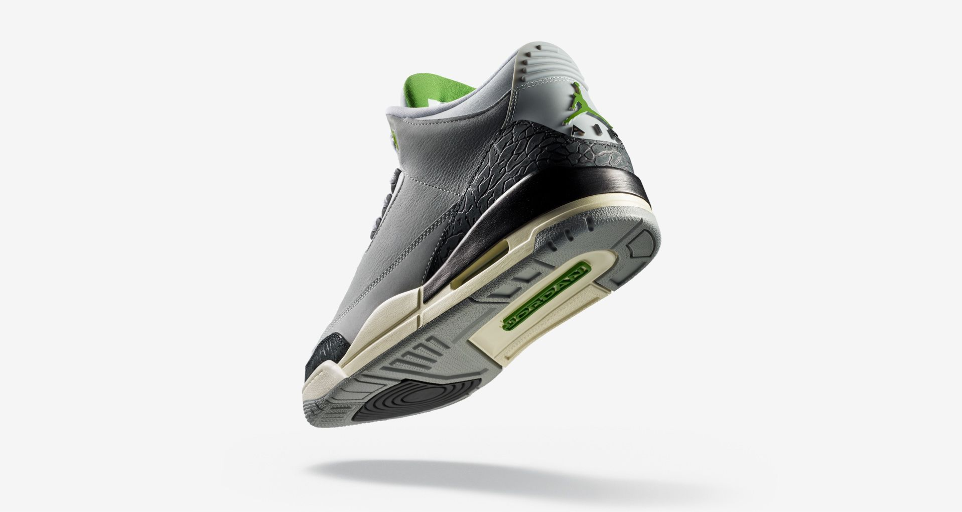 new concept be63e a7086 Air Jordan 3 Air Trainer 1  Light Smoke Grey   Chlorophyll  ...