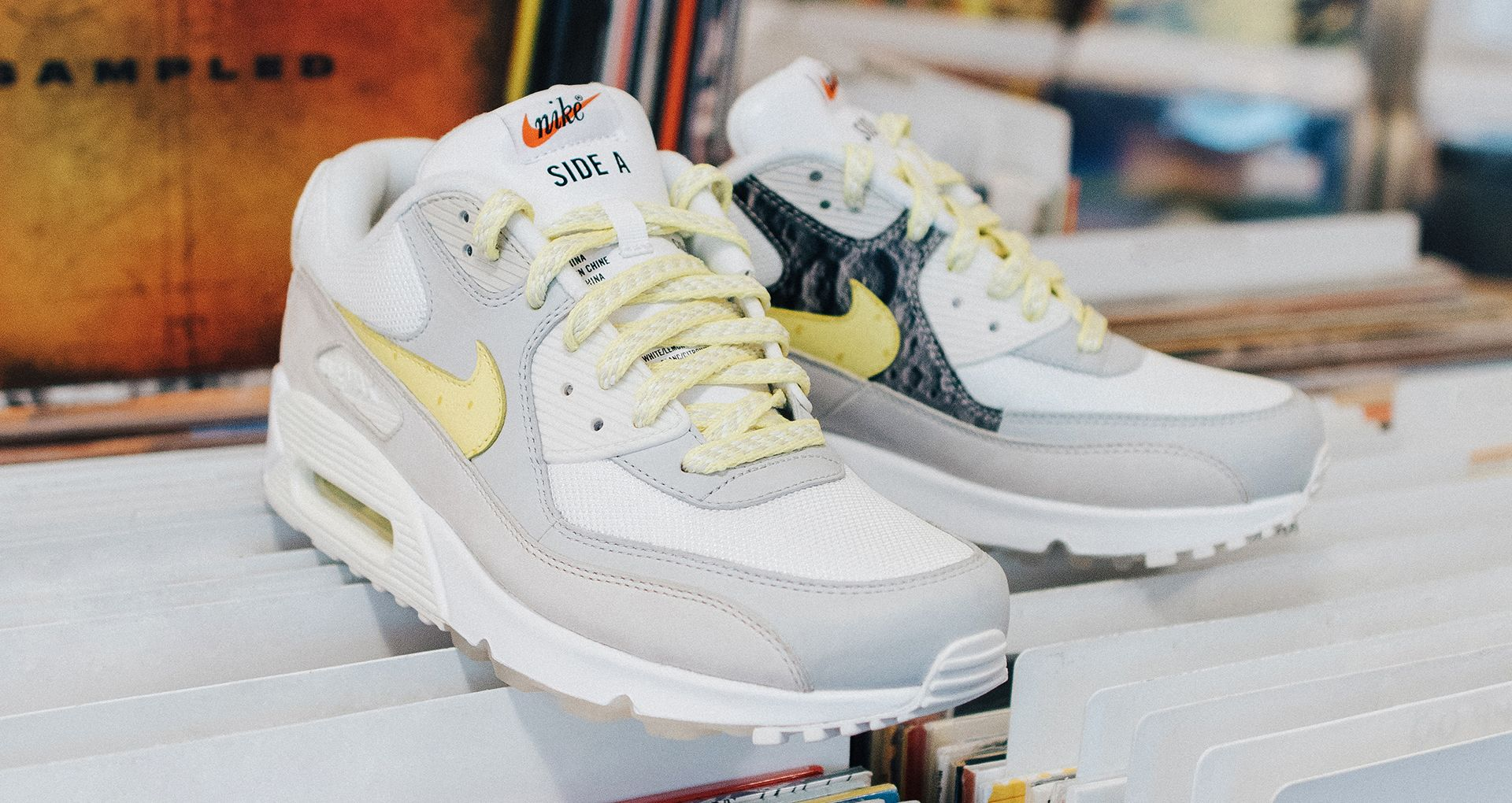 good service best supplier pretty cool Behind The Design: AIR MAX 90 'A SIDE'. Nike SNEAKRS GB