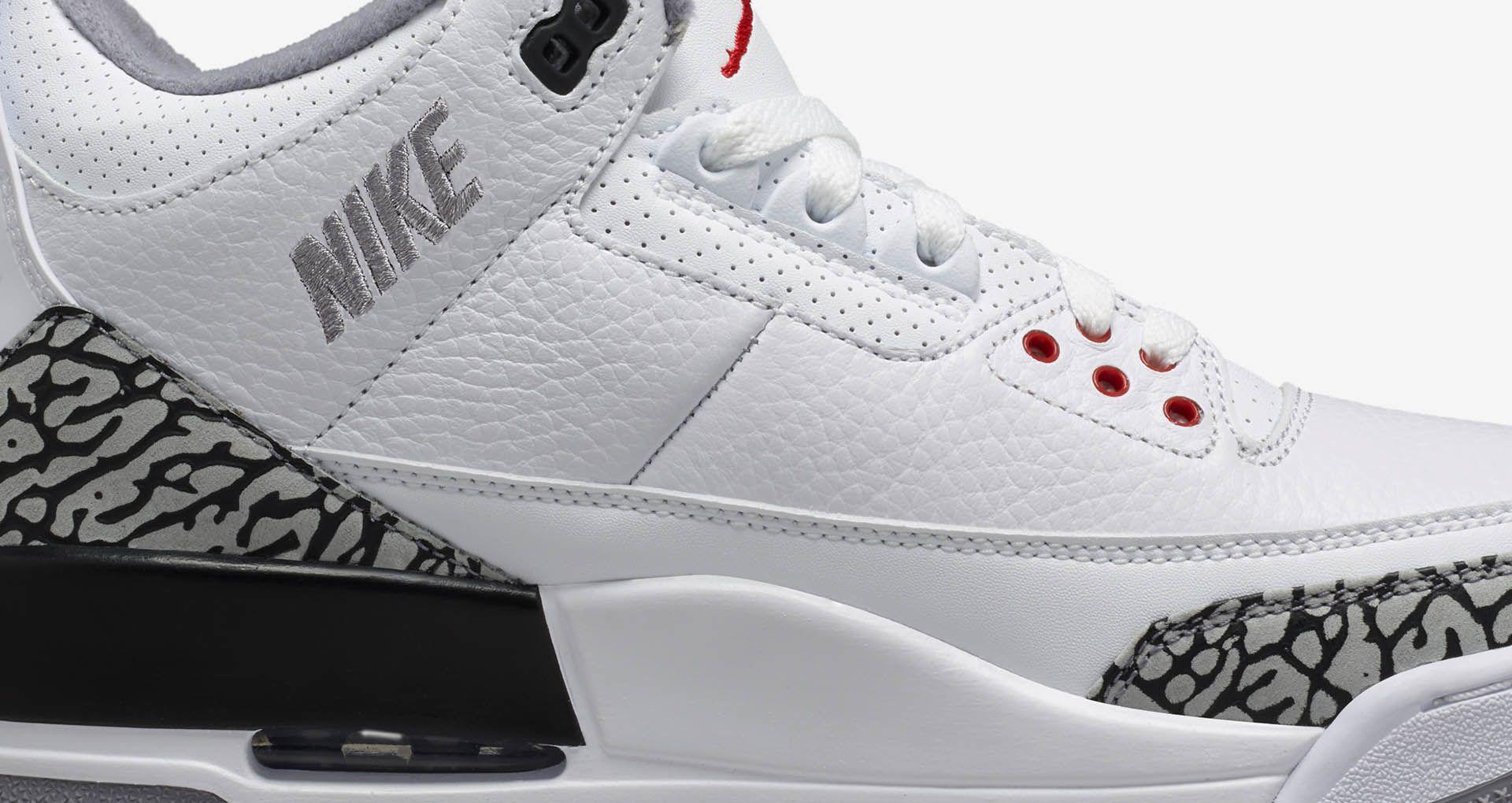 huge discount 99b83 acdde Air Jordan 3 'JTH' Release Date. Nike+ SNKRS