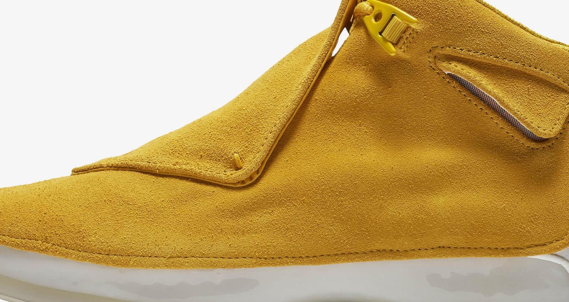 94ec6861d0da Air Jordan 18  Yellow Ochre   Sail  Release Date. Nike+ SNKRS