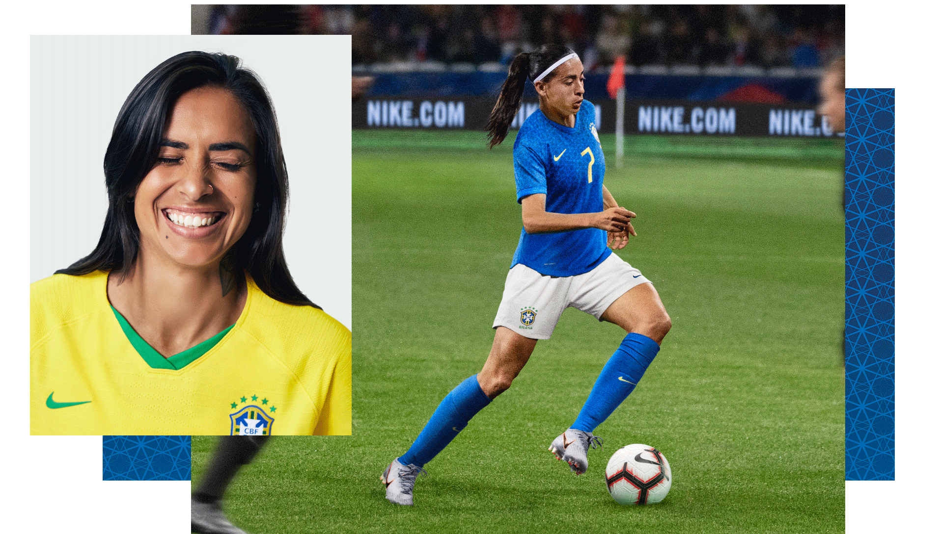 db6f6ed5e7266 Andressa Alvesová z ženského národního týmu Brazílie. Nike.com CZ
