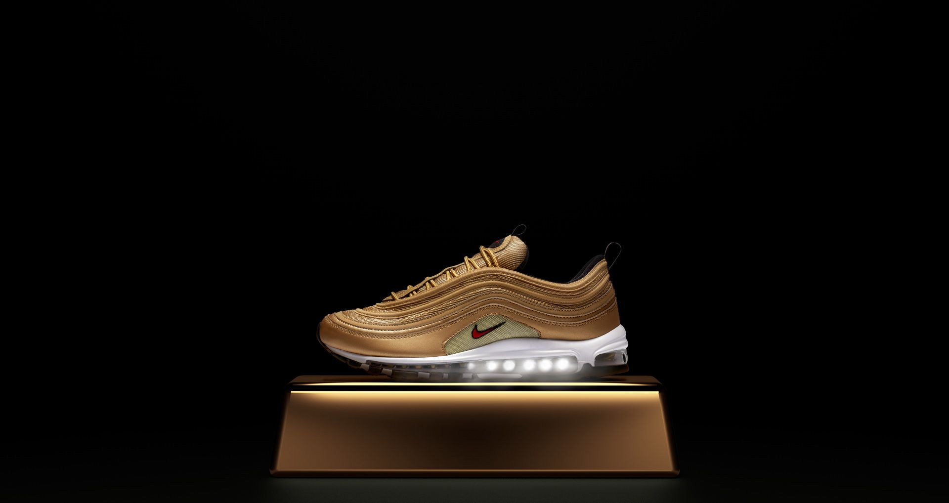 sports shoes dcbe3 8ddd6 Nike Air Max 97 OG QS 'Metallic Gold' Release Date. Nike⁠+ SNKRS