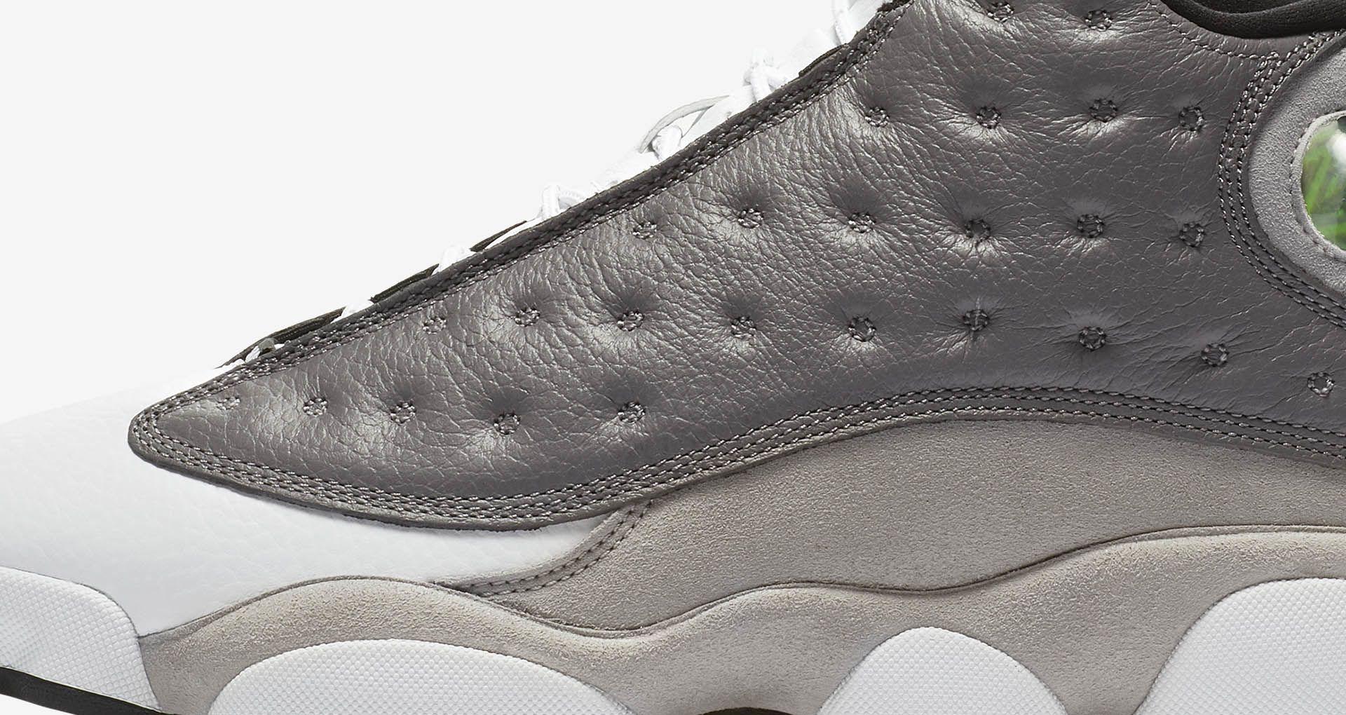 4cebbad145e Air Jordan 13  Atmosphere Grey   White   Black  Release Date. Nike+ ...