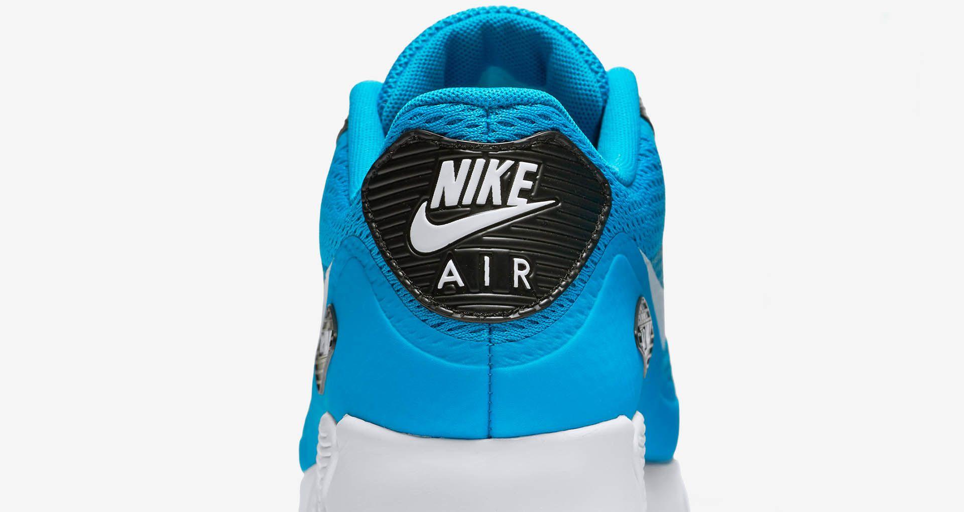Nike Air Max 90 Ultra 'Vibrant Blue'. Nike+ SNKRS