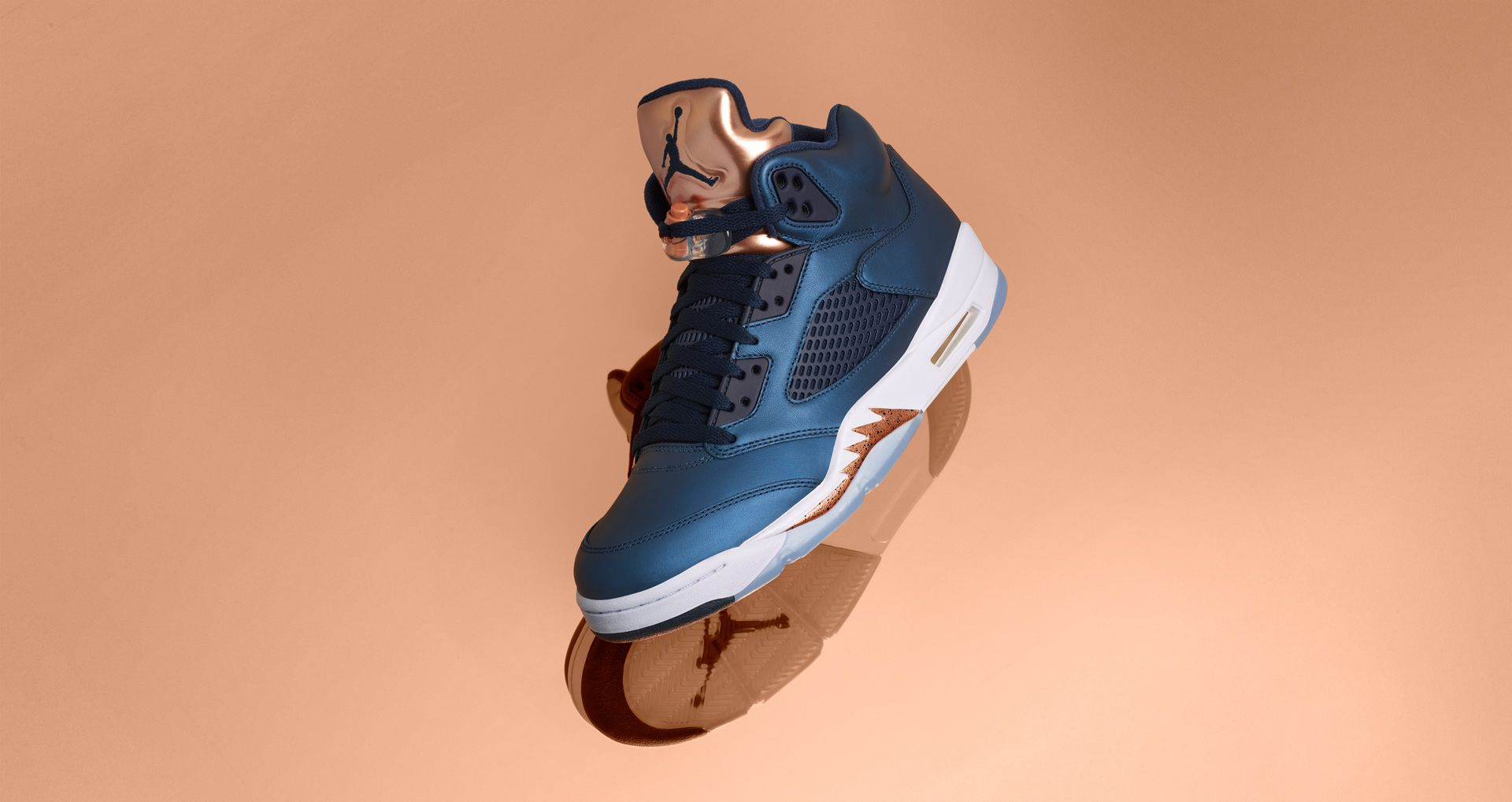 huge selection of a3e75 9dfad Air Jordan 5 'Bronze' Release Date. Nike⁠+ SNKRS