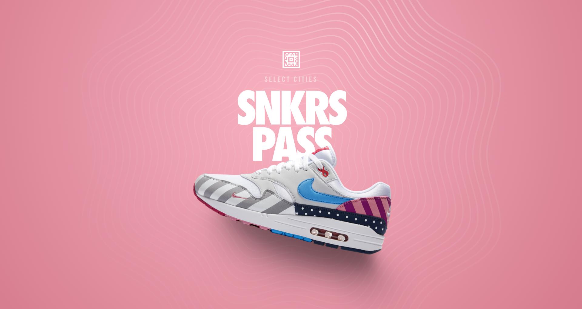 Nike Air Max 1 'Parra' SNKRS Pass Select Cities  Nike+ SNKRS