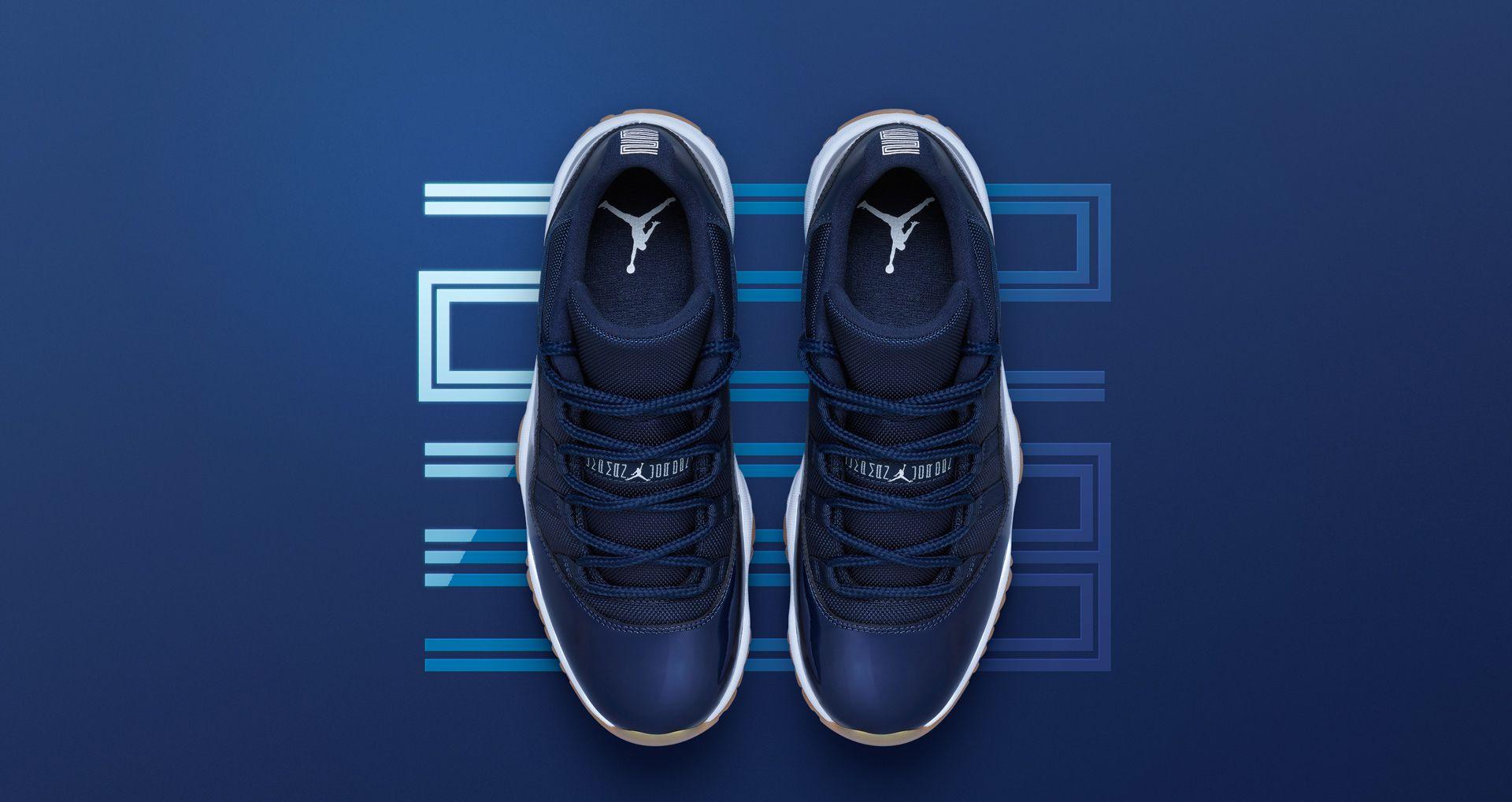 3c899bb1dda Air Jordan 11 Retro Low 'Navy Gum' Release Date. Nike+ SNKRS
