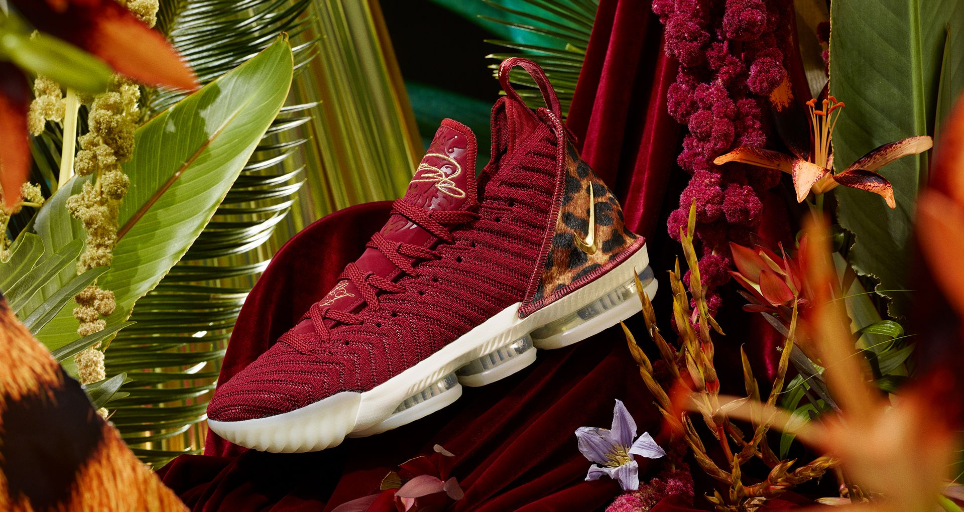 802cd8c421b5a Lebron 16 King  Team Red   Metallic Gold  Release Date. Nike+ SNKRS