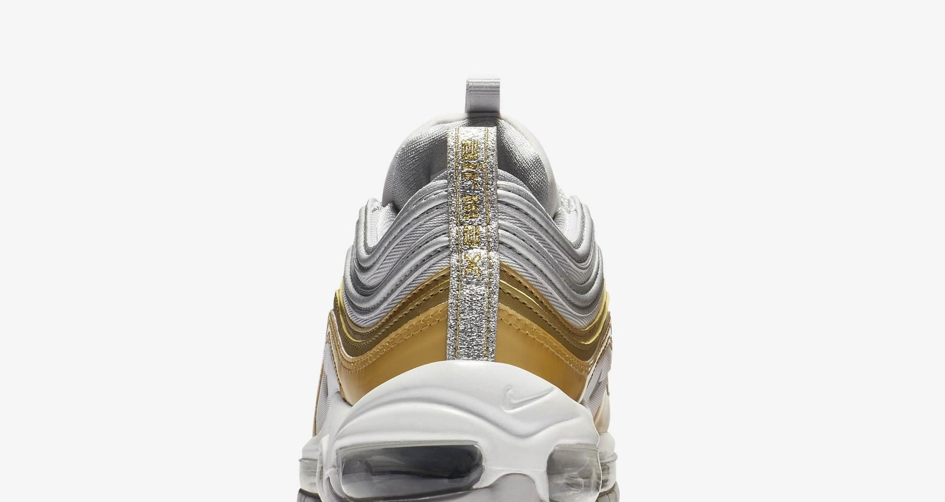 Women's Air Max 97 'Vast Grey & Metallic Gold & Metallic